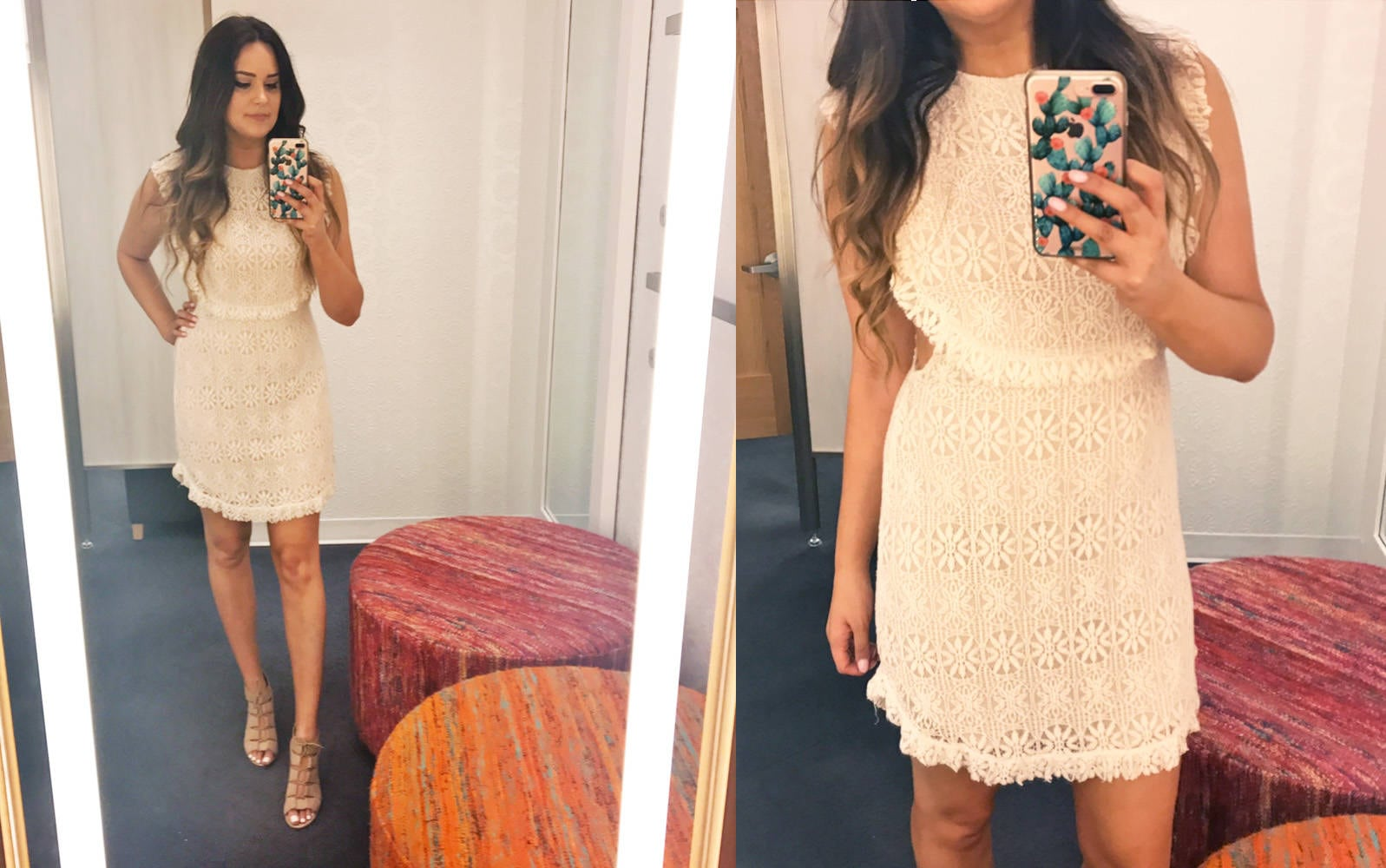Nordstrom half yearly try on haul | Mash Elle bell sleeves | Nordstrom shopping | Nordstrom Sale | jeans |  lace dress