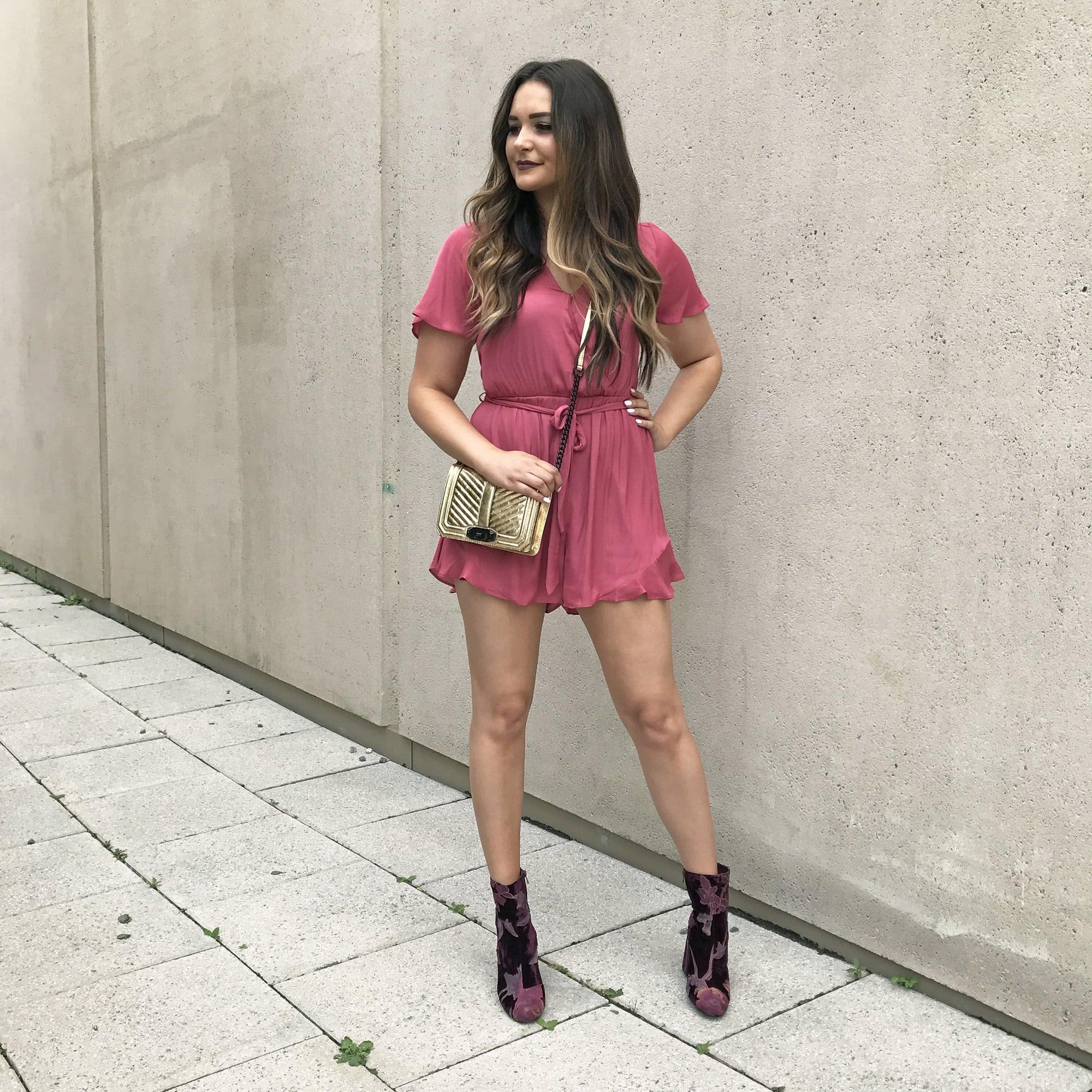 Nordstrom try on haul | beauty style blogger Mash Elle |  Nordstrom Anniversary Sale | romper