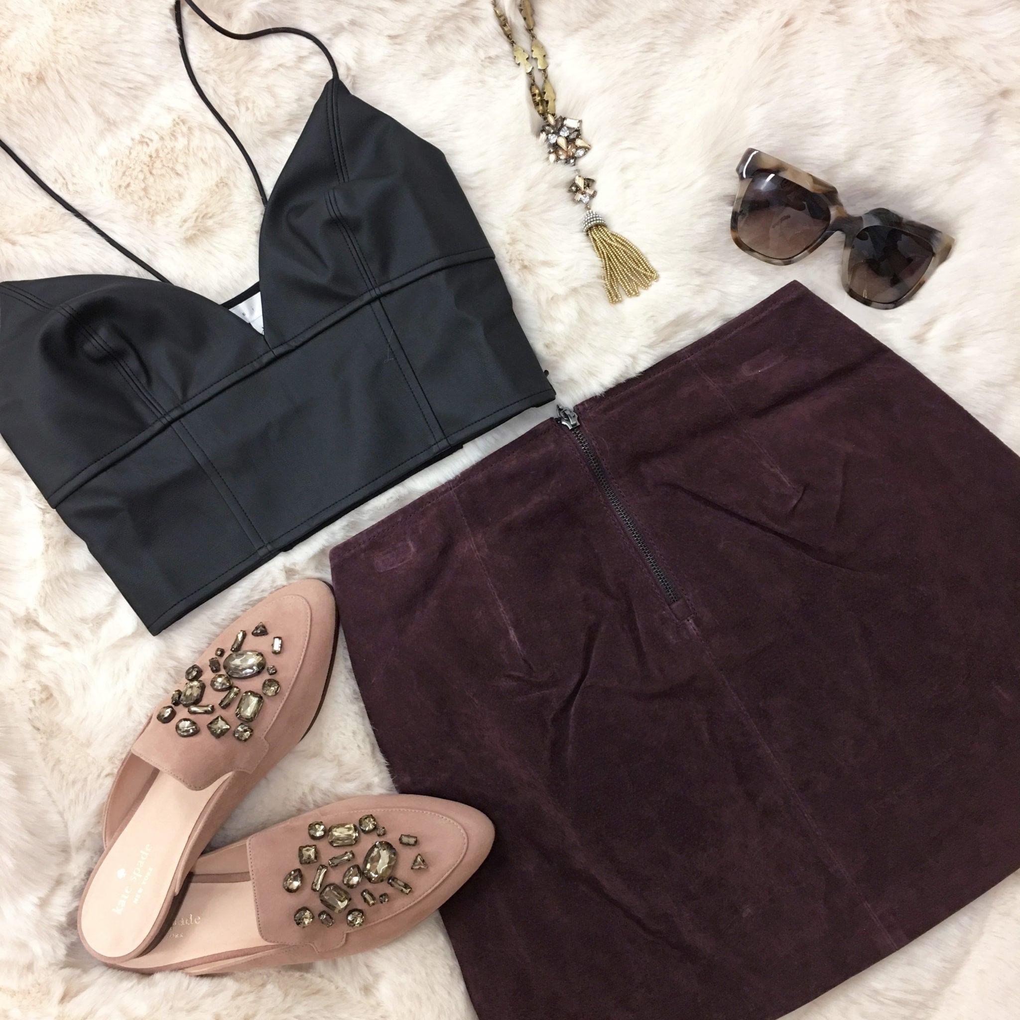 Nordstrom try on haul | beauty style blogger Mash Elle |  Nordstrom Anniversary Sale | mini skirt