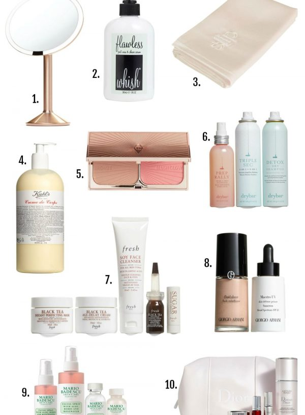 top picks nordstrom anniversary sale beauty blogger Mash Elle beauty nail polish lotion eye cream