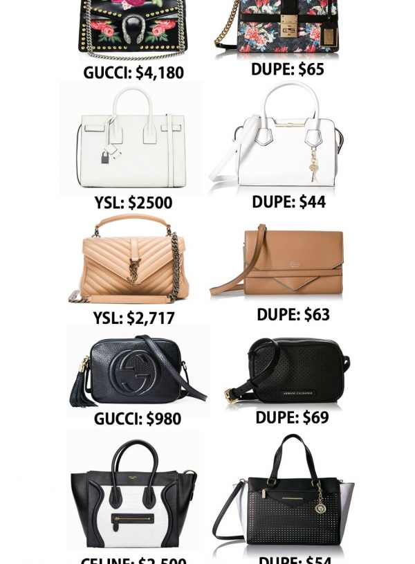Mash Elle style blogger shares best designer bag dupes