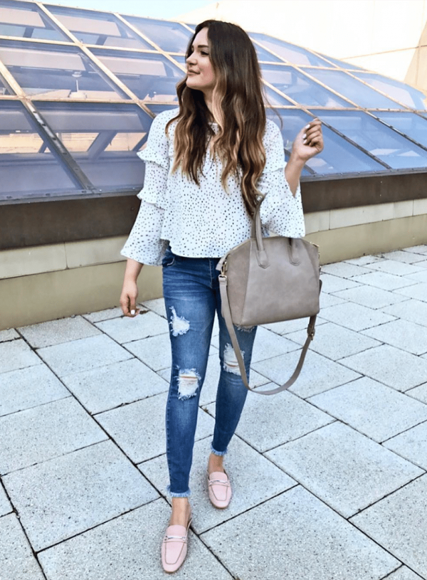 Loafers outfit ideas Mash Elle