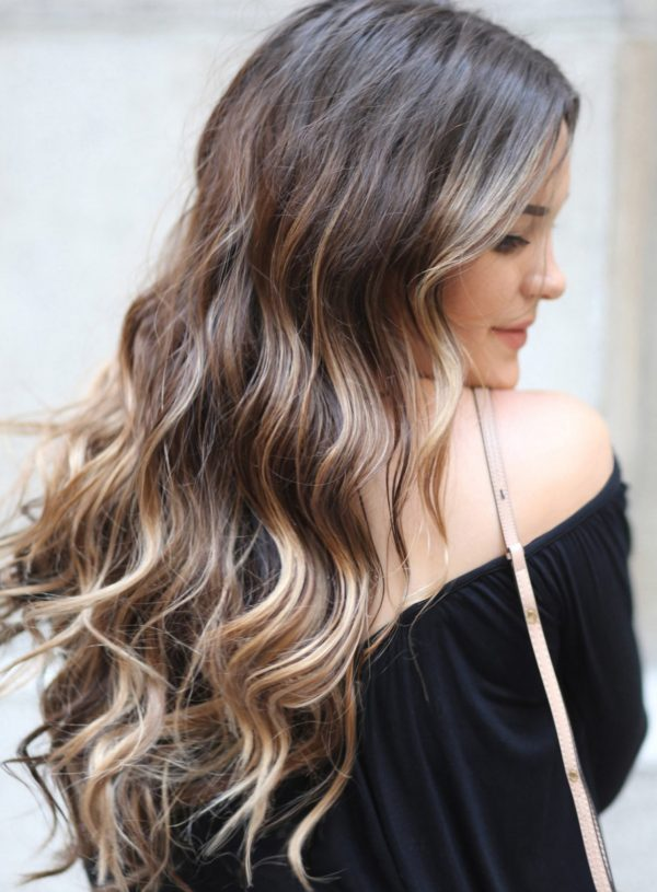 Partial Balayage featured by popular Orlando beauty blogger, Mash Elle