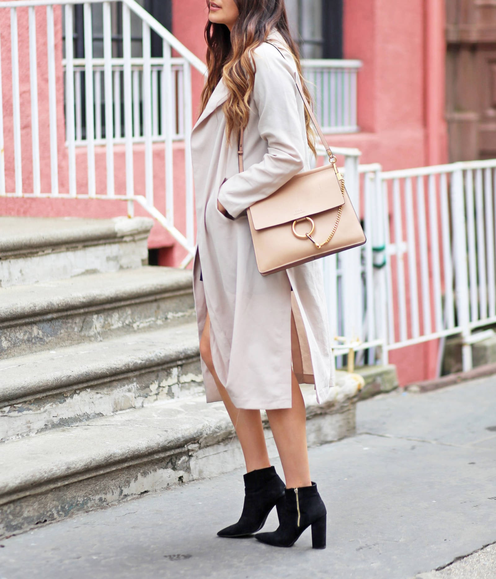 Style blogger Mash Elle | trench coat | spring outfit | cold weather outfit |  trench coats for spring