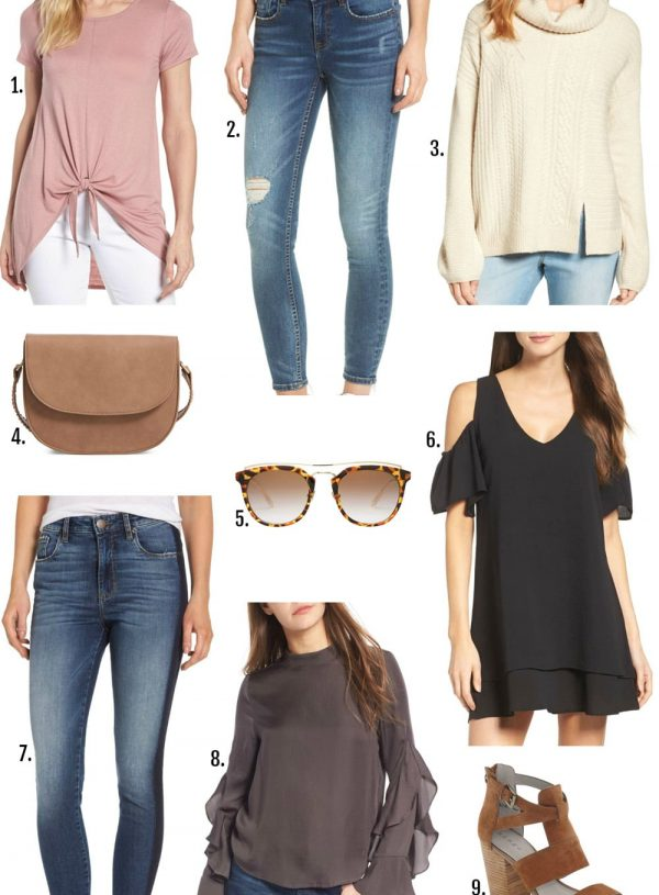 Nordstrom summer sale fall wardrobe essentials beauty style blogger Mash elle