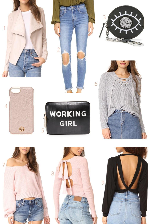 Best Shopbop sale | Mash Elle style blogger | Shopbop | fashion | sale finds | working girl clutch | iphone case