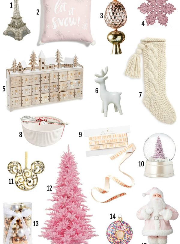 Lifestyle blogger Mash Elle shares the best Christmas decor