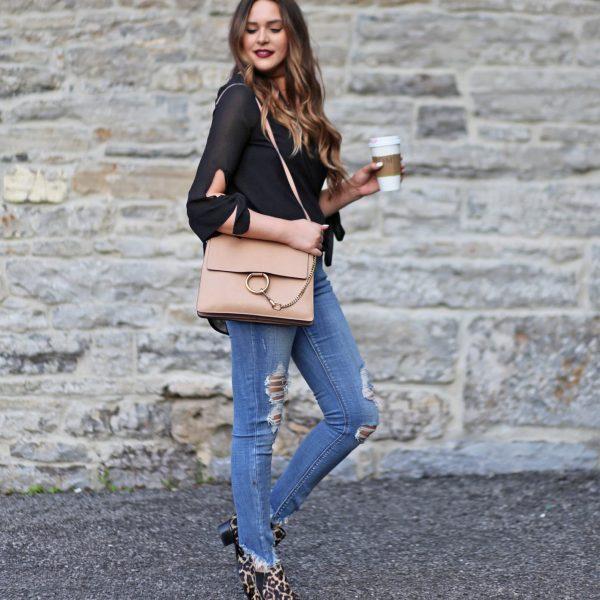 Leopard print boots   beauty blogger Mash Elle   leopard print   fall fashion   leopard print style   print