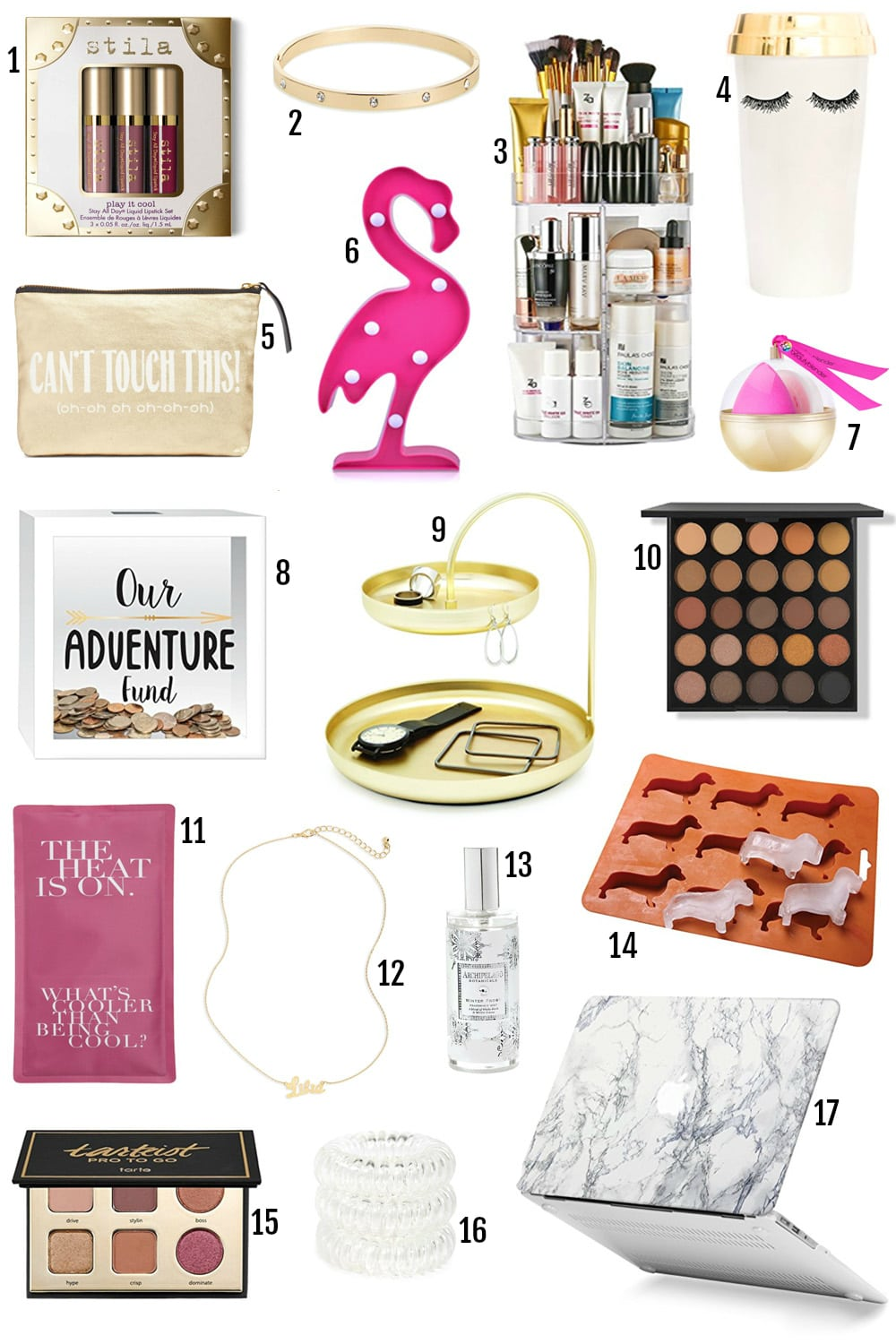The BEST Gifts For Her Under $25 by popular Orlando style blogger Mash Elle | gifts for the girl who loves travel | gifts for girls in college or university | gifts for girls in sororities