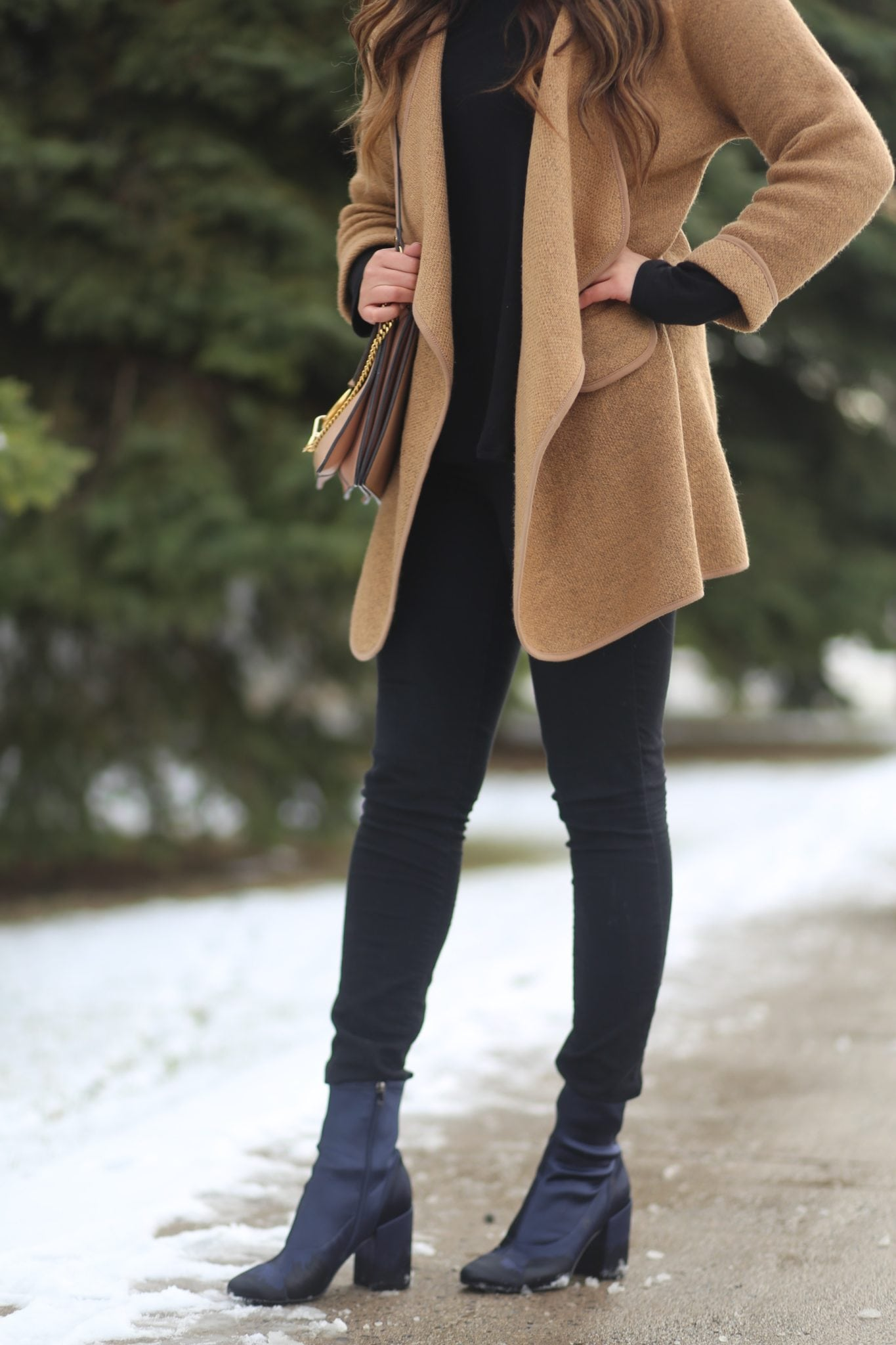 best friend | matching booties | shoe style outfit | winter fashion | beauty blogger Mash Elle | Marie's bazaar |  Marc Fisher giveaway