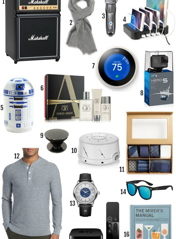 Ultimate Gift Guide For Him 2017