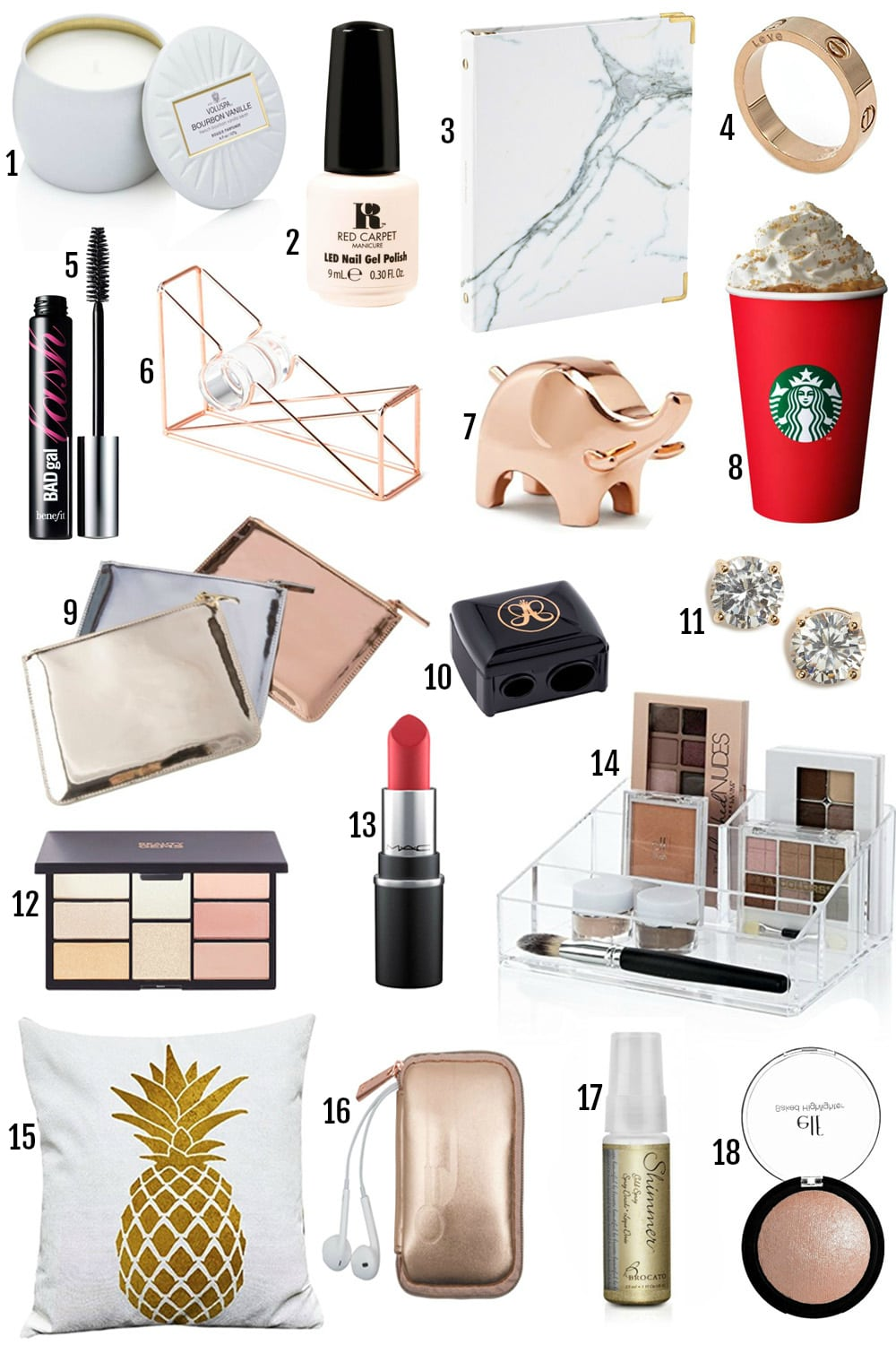 Stocking Stuffer Ideas Under $10 by popular Orlando blogger Mash Elle