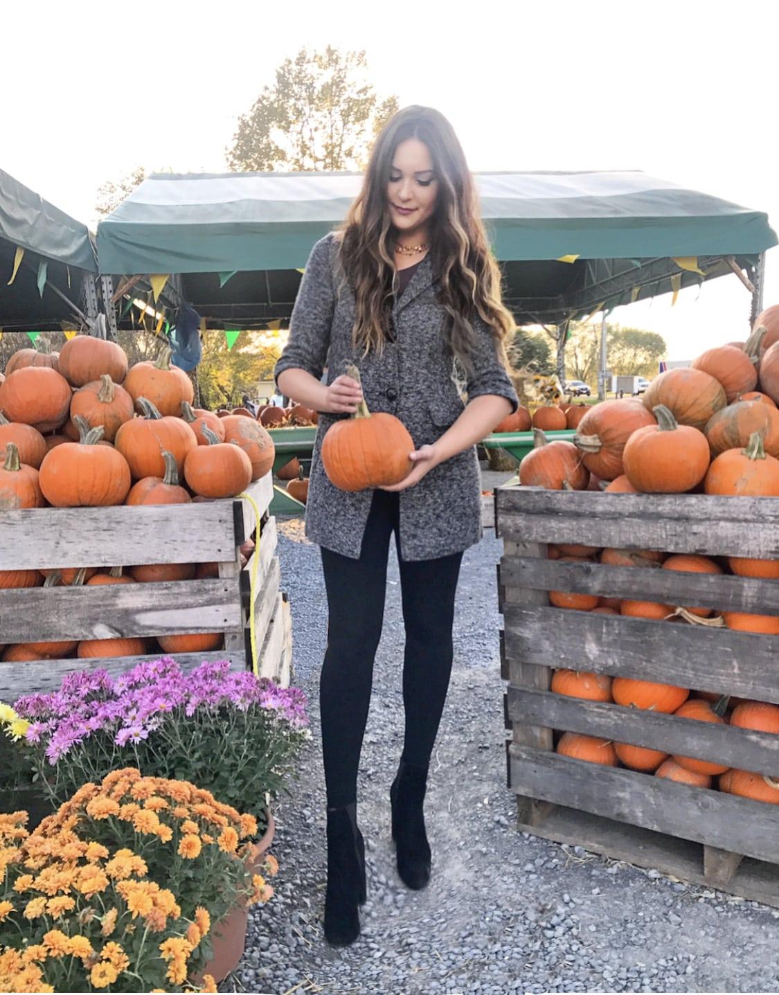 best Nordstrom sale finds | cute pumpkin patch photos | lightweight flattering jacket for fall
