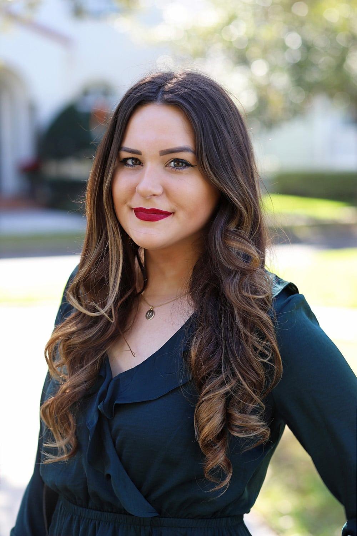 Affordable flattering little black dress christmas outfit beauty blogger Mash Elle