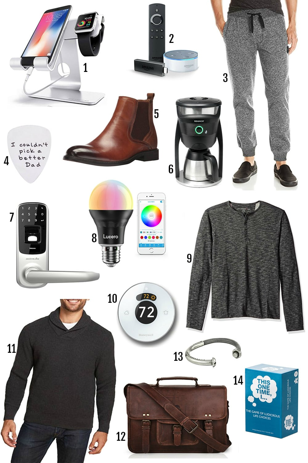 Lifestyle blogger Mash Elle shares last minute gifts for everyone on your list with free two day shipping | gifts for him | apple TV, iPhone stand | best electronic gifts for him | personalized gifts for him