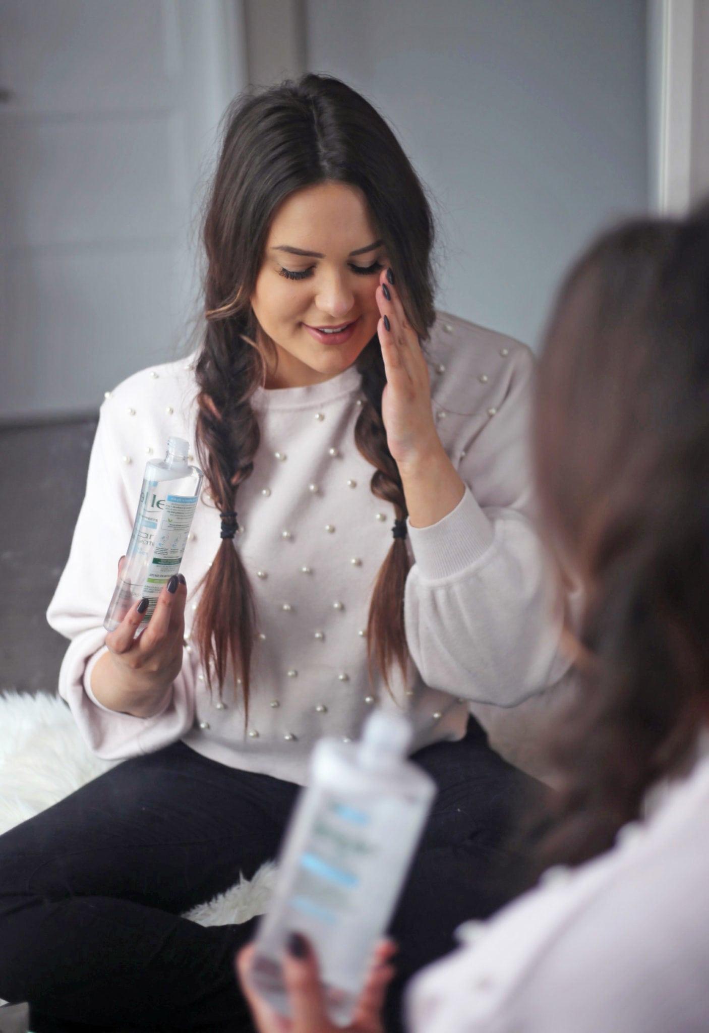 Beauty blogger Mash Elle | best skincare cleanser for healthy skin | healthy skin | skincare | simple micellar cleanser