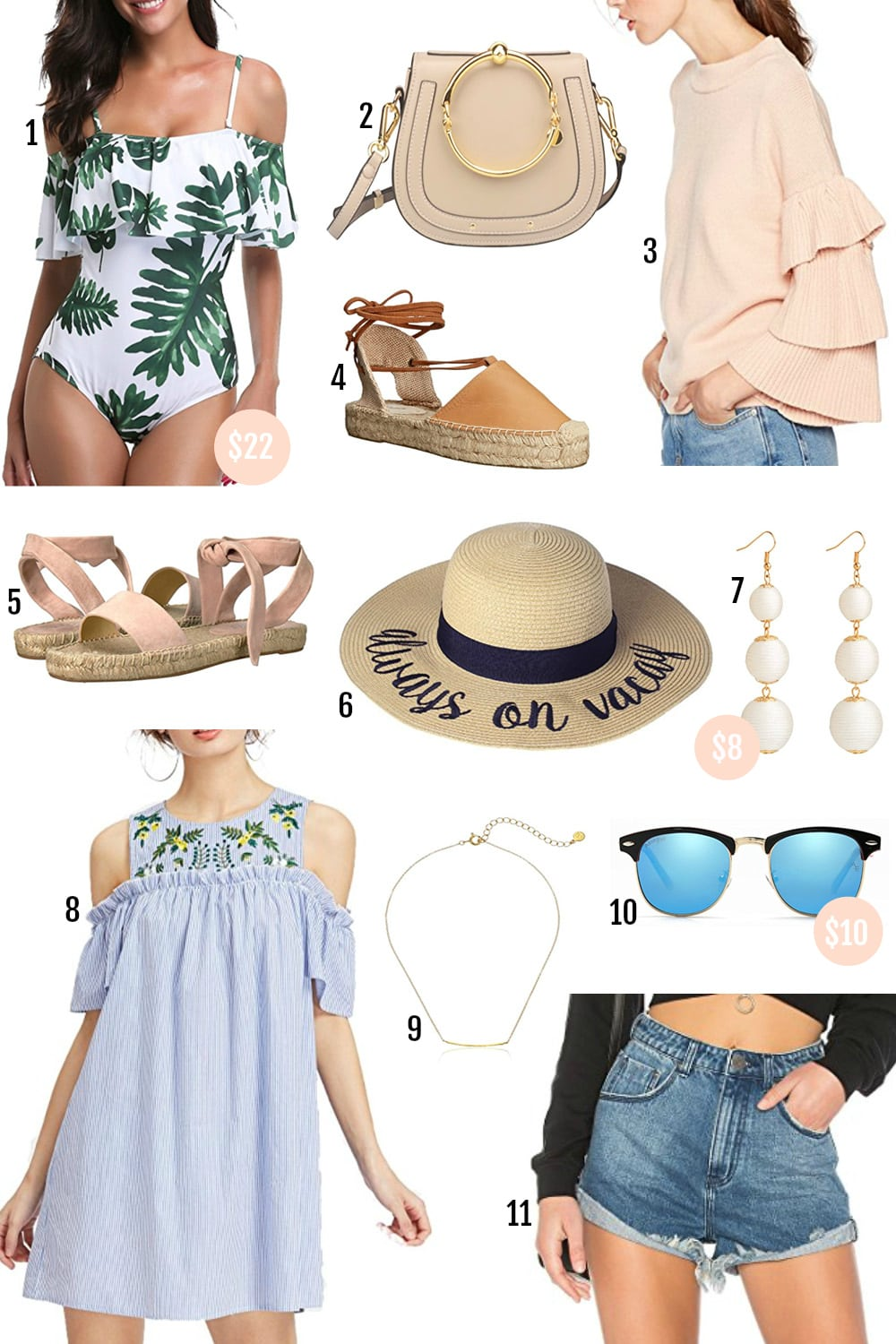 Beauty blogger Mash Elle shares her roundup of affordable spring fashion finds | Amazon | Amazon fashion | spring fashion