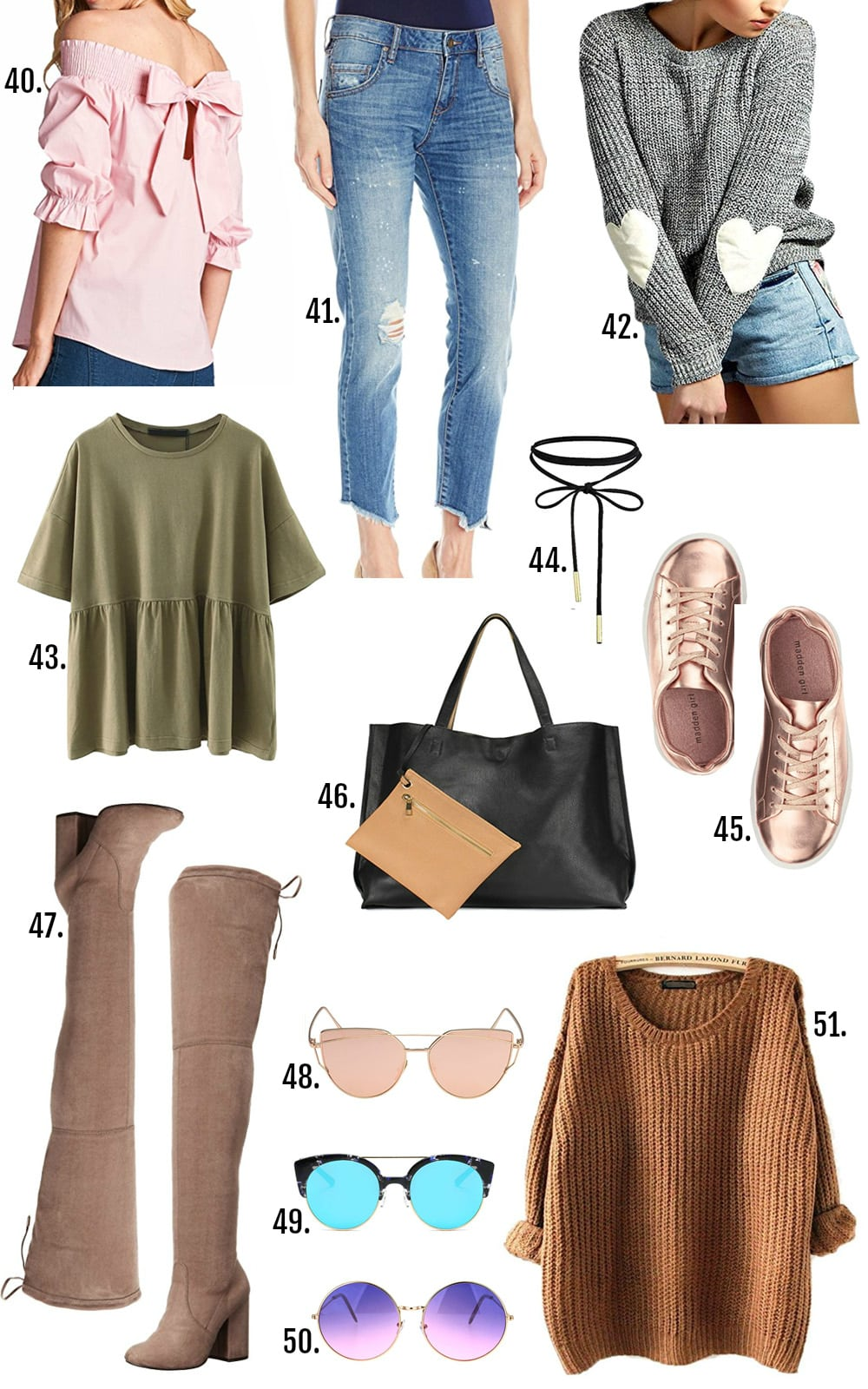 Beauty blogger Mash Elle shares her roundup of affordable spring fashion finds   spring fashion   affordable fashion