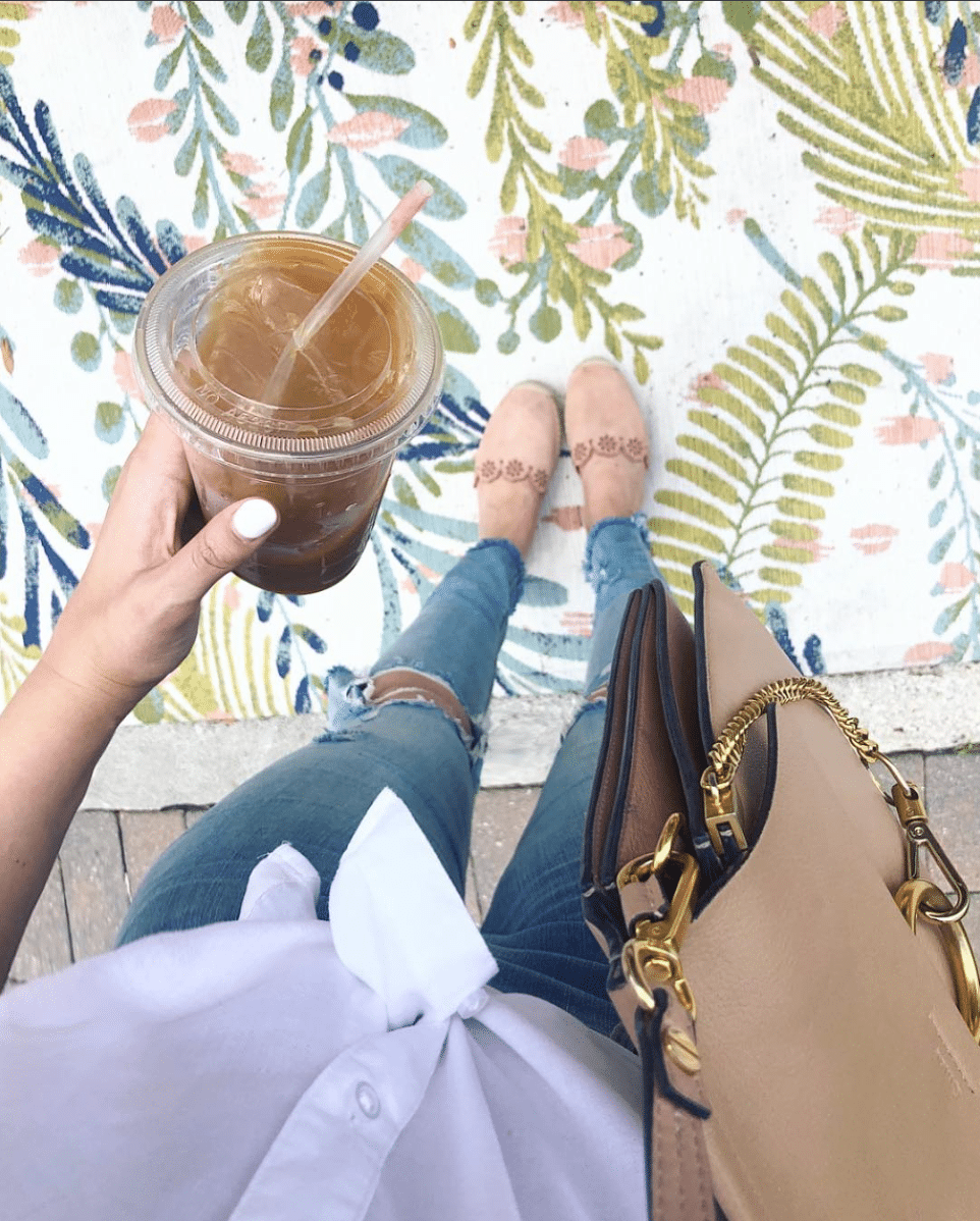 shop my instagram roundup styles Mash Elle coffee suede shoes