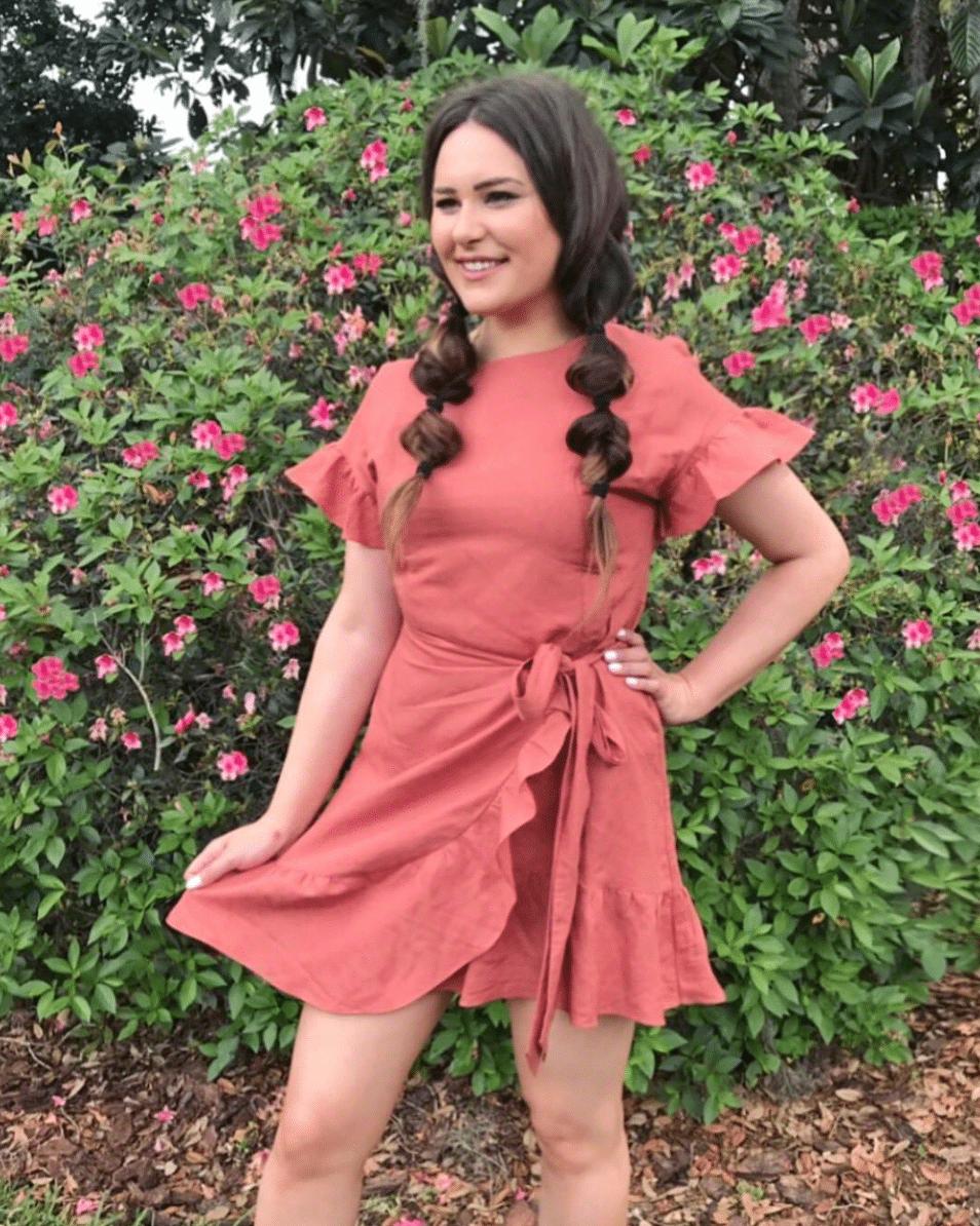 shop my instagram roundup styles Mash Elle pink dress flowers
