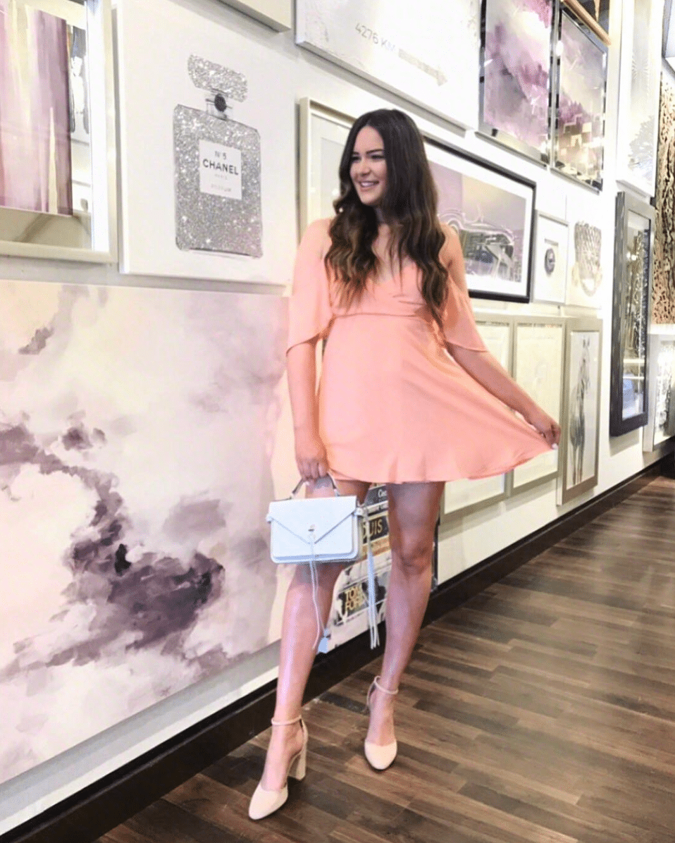 pink dress shop my instagram roundup styles Mash Elle