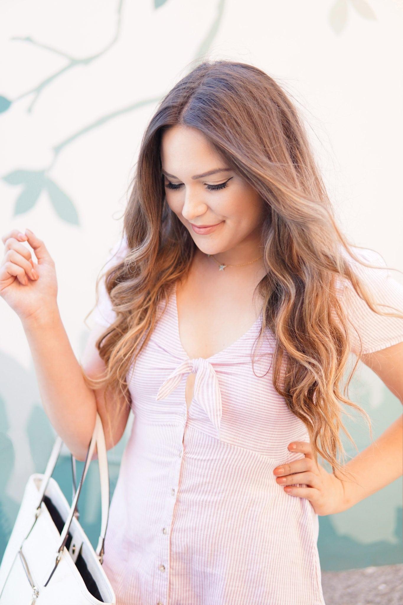Beauty blogger Mash Elle pretty, elegant dresses | dresses to wear to church