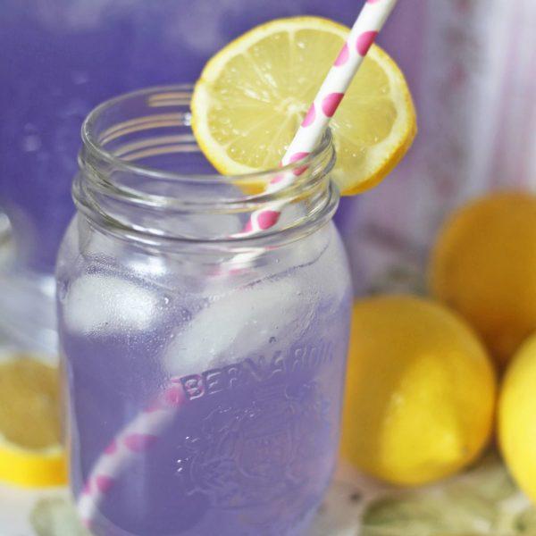 Mash Elle summer lavender lemonade recipe