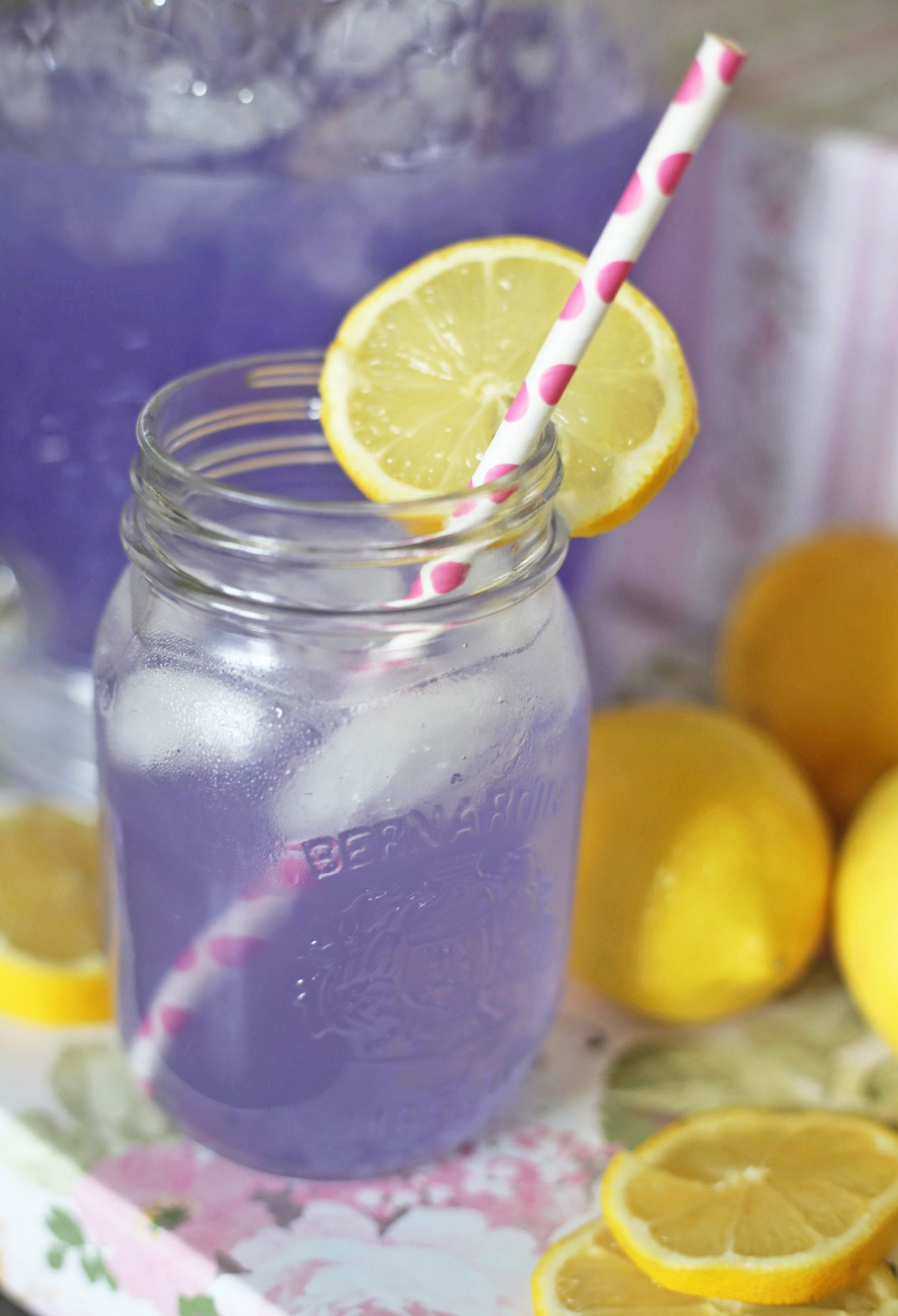 Mash Elle lifestyle blogger | summer drink recipe | lavender lemonade recipe