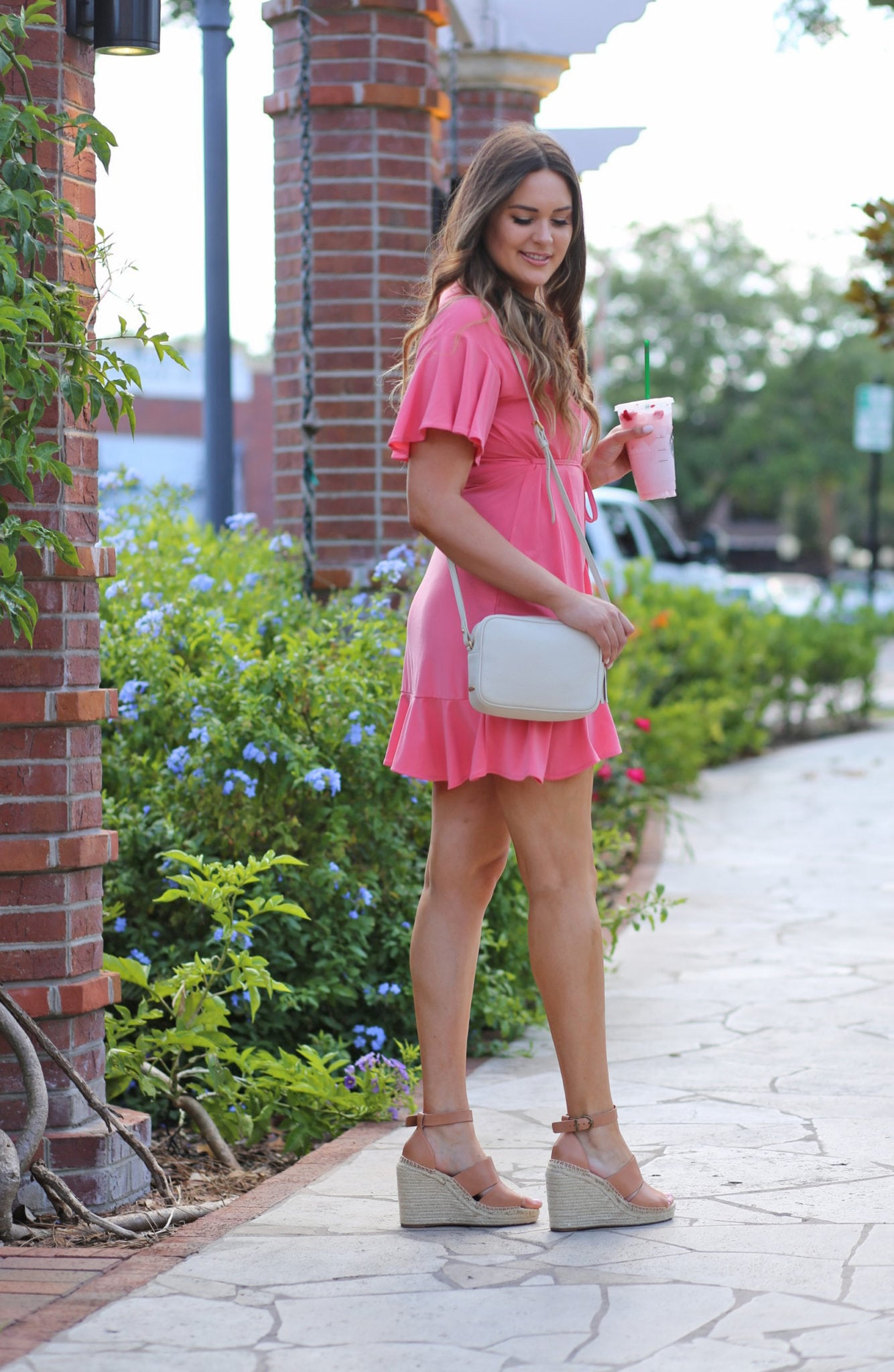 Mash elle baby shower outfit pink dress