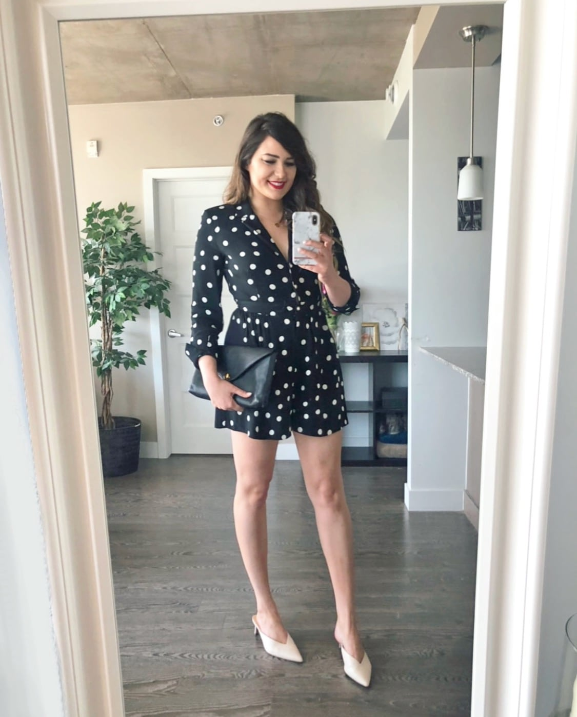 how to style kitten heels outfit Mash Elle beauty blogger