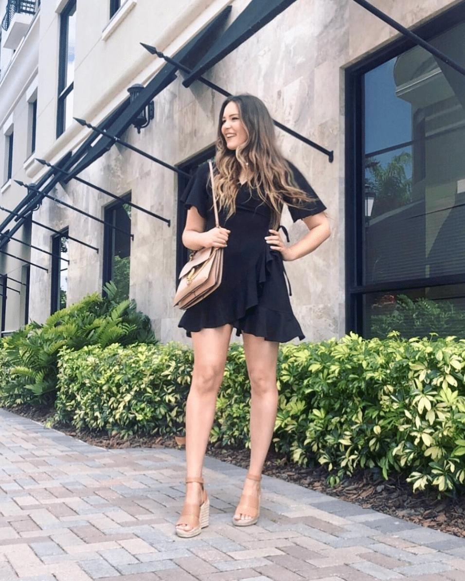 Mash Elle Beauty Blogger Shop My Outfits + Instagram | shop my instagram | outfit ideas | blogger outfits | wrap dress