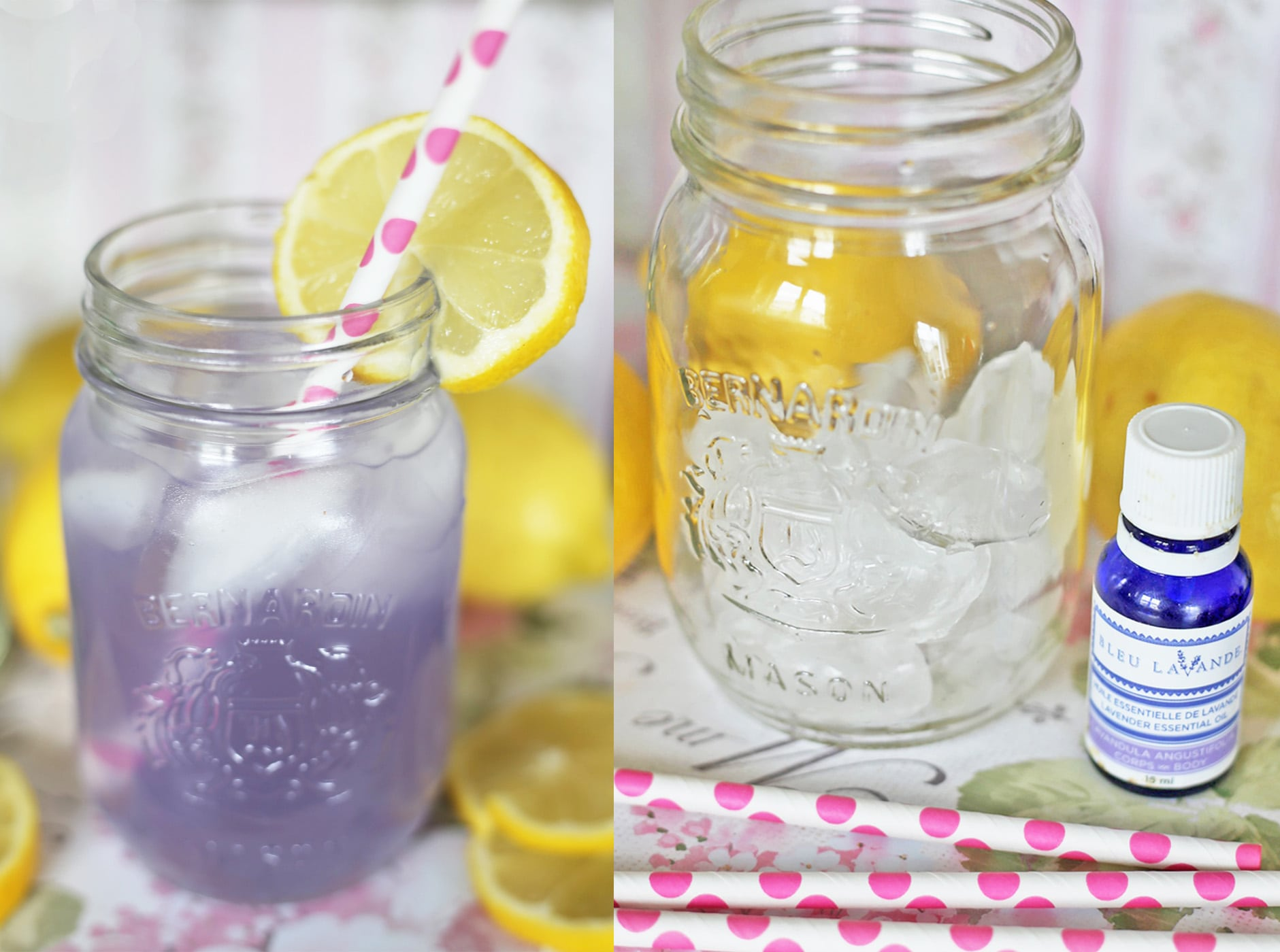 Mash Elle summer lavender lemonade recipe
