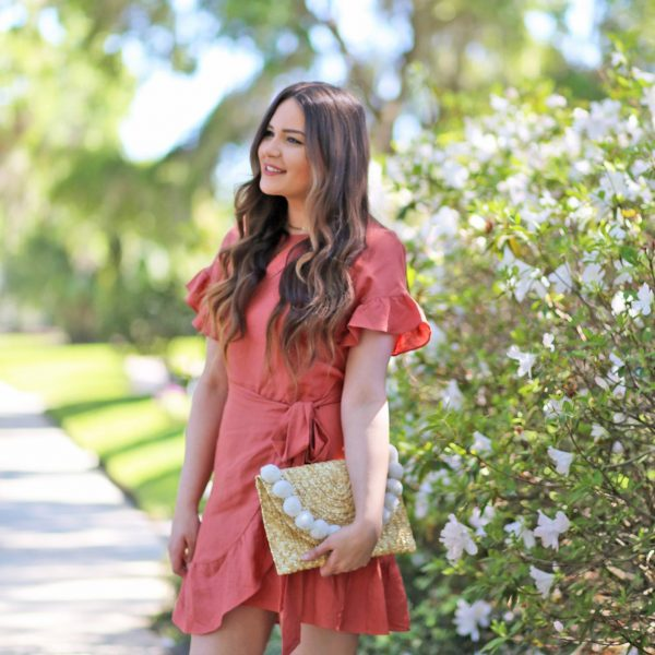 best wrap dresses for summer beauty blogger Mash Elle