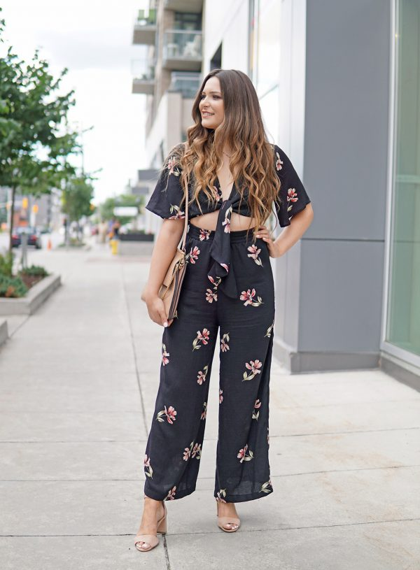 A Dressy Jumpsuit You Can Wear Into Fall