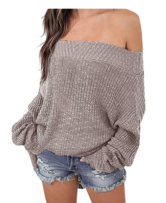 Mash Elle amazon prime sale | Amazon Prime | gift ideas | gifts for her| off shoulder sweater fashion