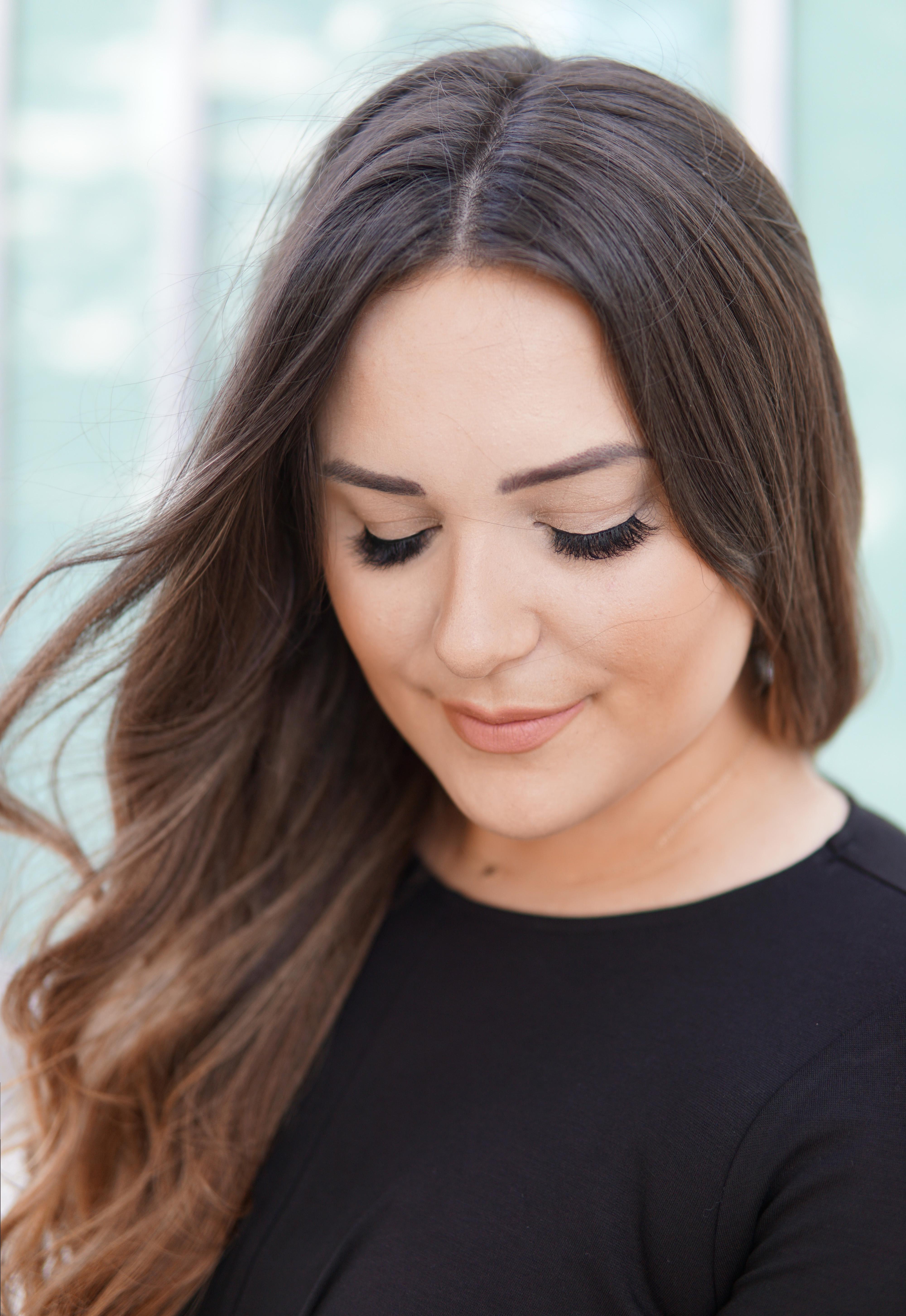 choose false lashes | beauty blogger mash elle | lash tutorial | false lashes