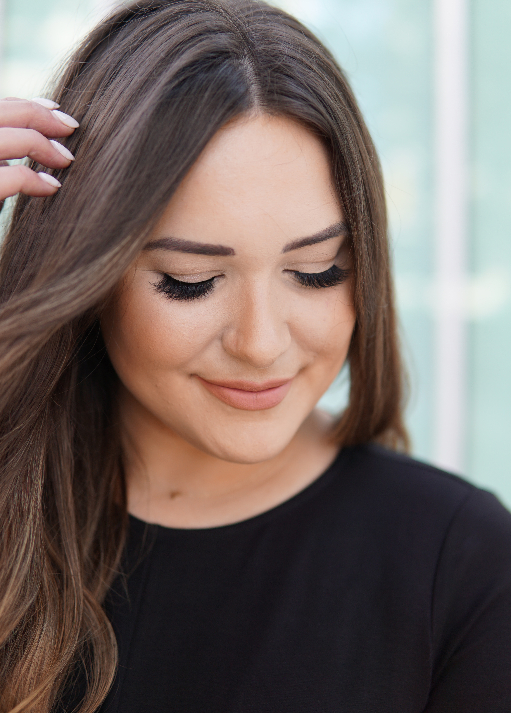 false lashes for your eye shape | choose false lashes | beauty blogger mash elle | lash tutorial | false lashes |