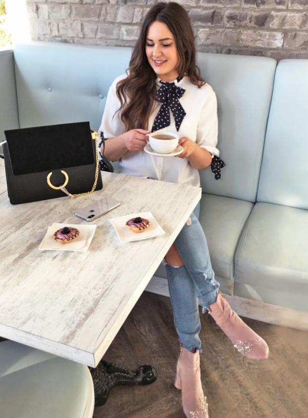 Mash Elle beauty blogger Amazon fashion finds black purse