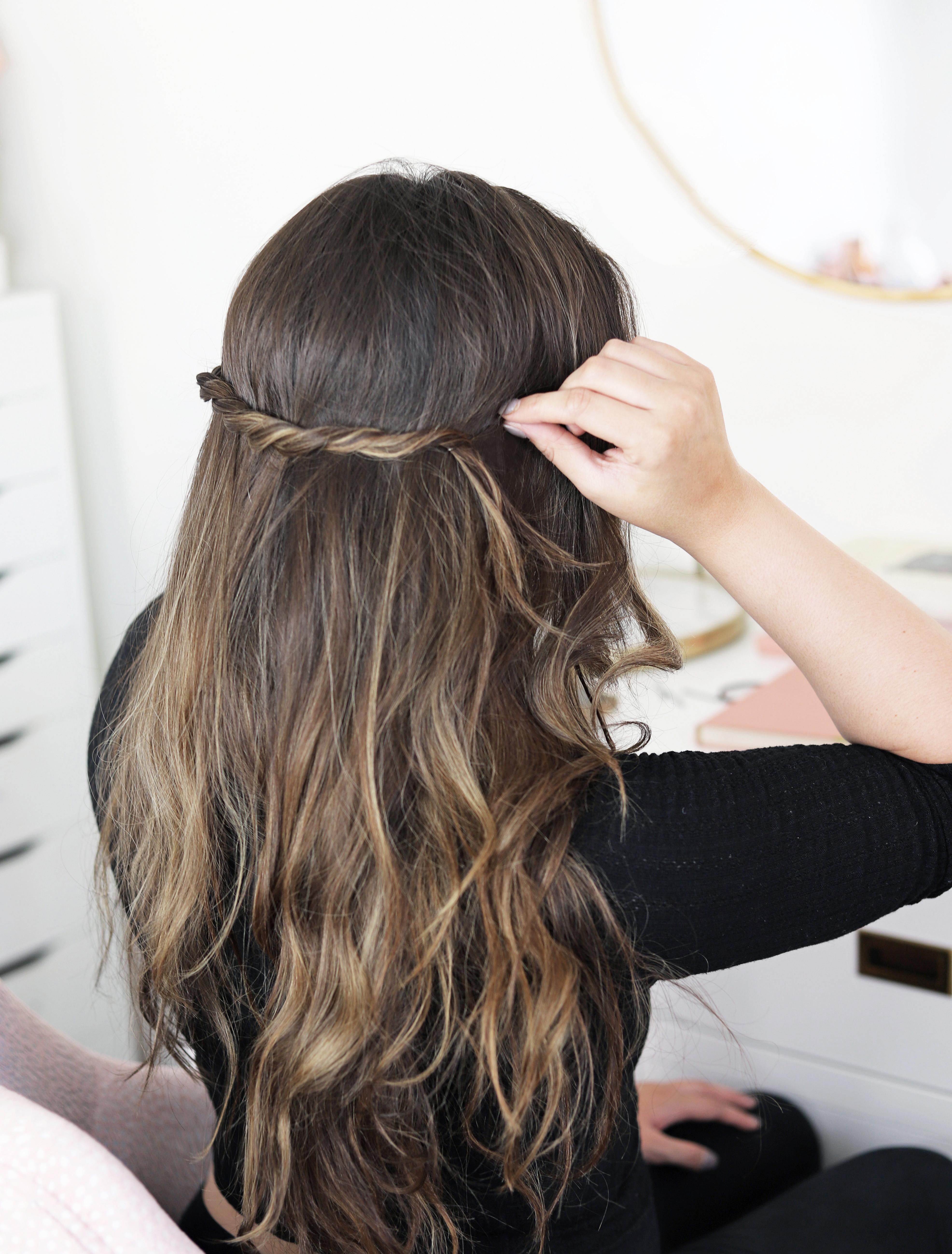 Mash elle beauty blogger | hairstyle | hair tutorial | Pantene | long hair | fall hairstyles | hair inspiration | romantic hair | braid