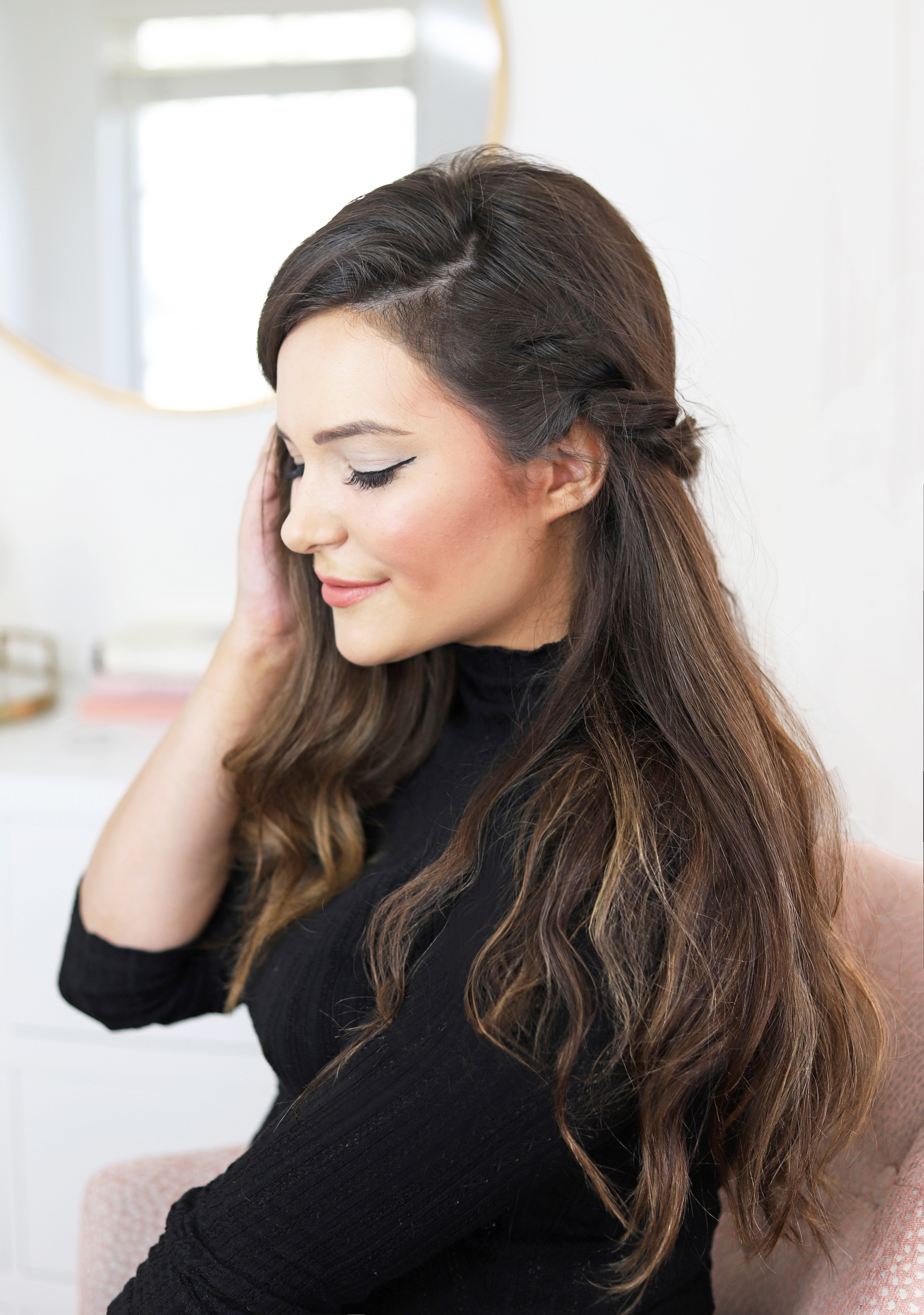 Mash elle beauty blogger | hairstyle | hair tutorial | Pantene | braided hair | fall hairstyles | hair inspiration