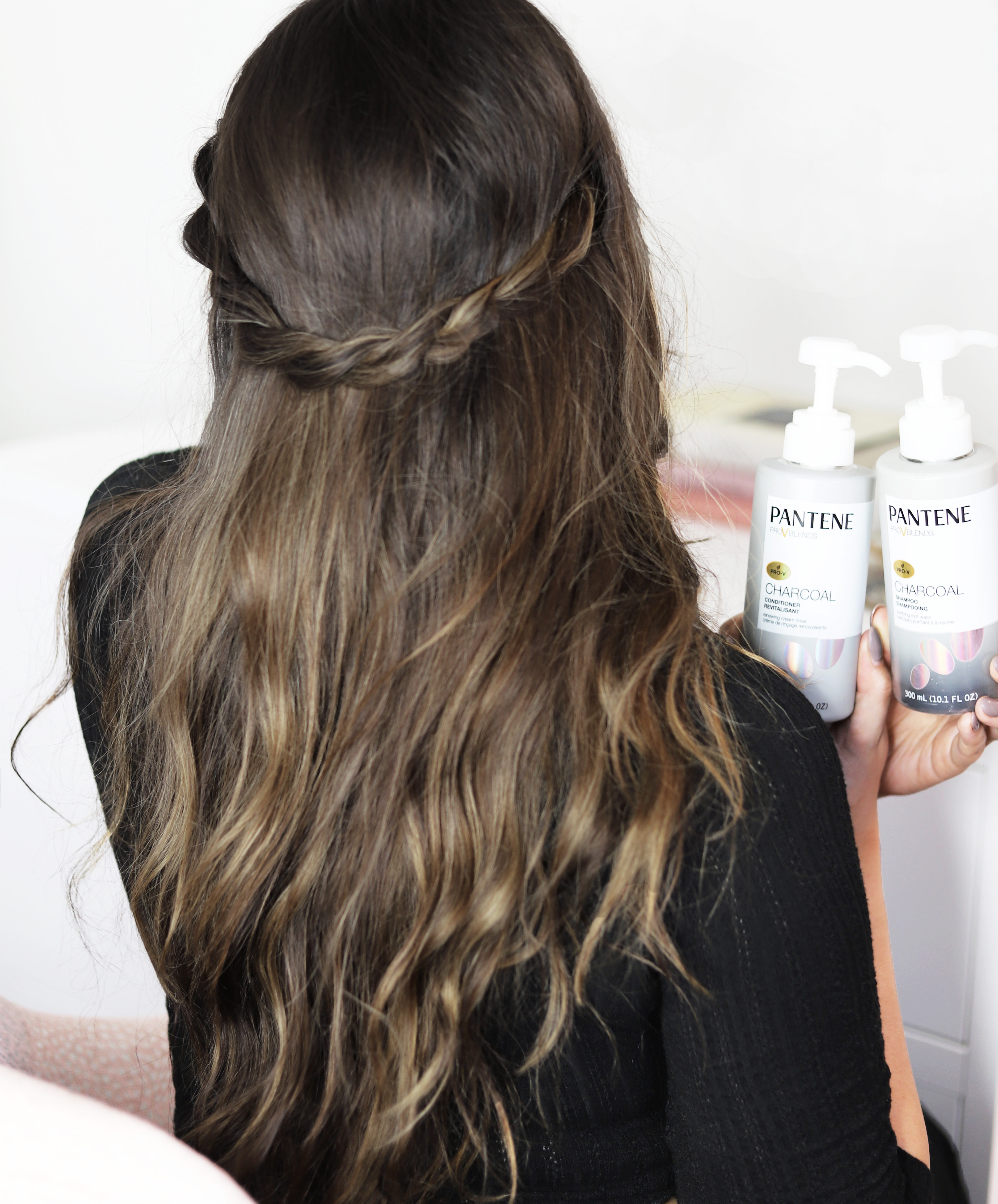 Mash elle beauty blogger | hairstyle | hair tutorial | braided hairstyle | Pantene | everyday hairstyle | long hair | fall hairstyles | hair inspiration