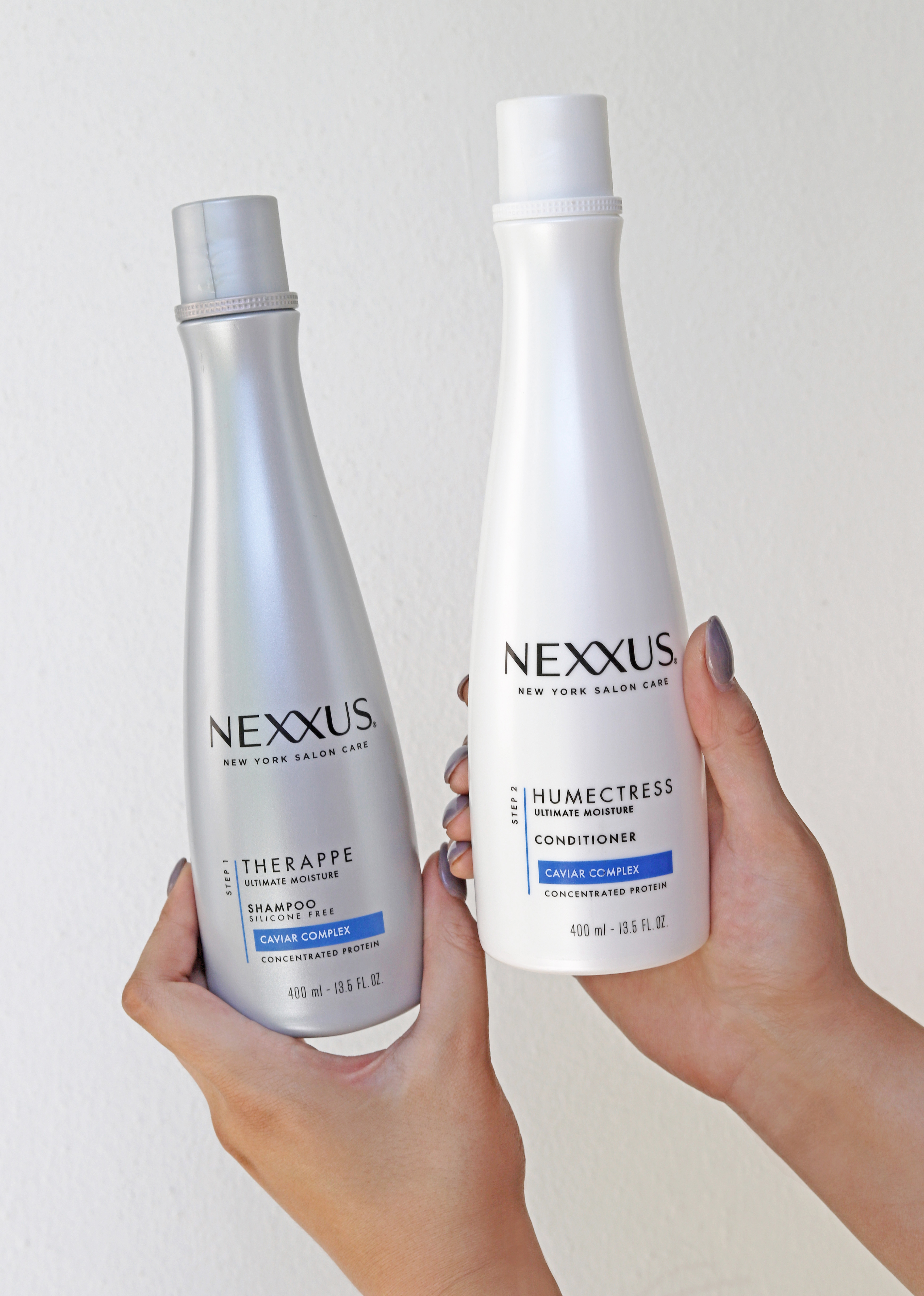 best shampoo and conditioner | balayage hair | Nexxus Therapee shampoo and Nexxus Humectress conditioner review | beauty blog Mash Elle
