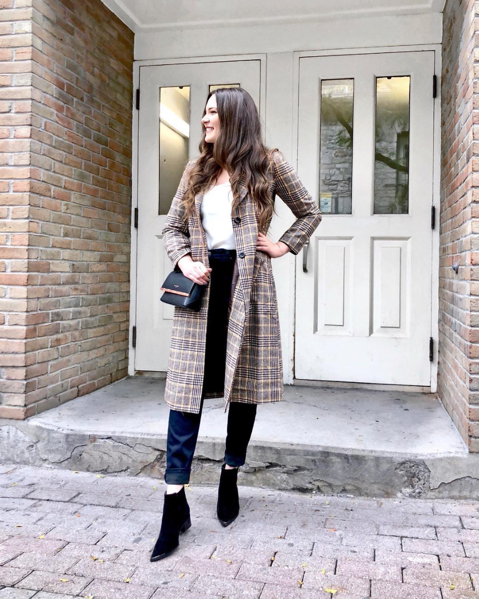 how to wear plaid in fall | Mash Elle | fall outfits | outfit ideas | work outfit ideas | autumn fashion