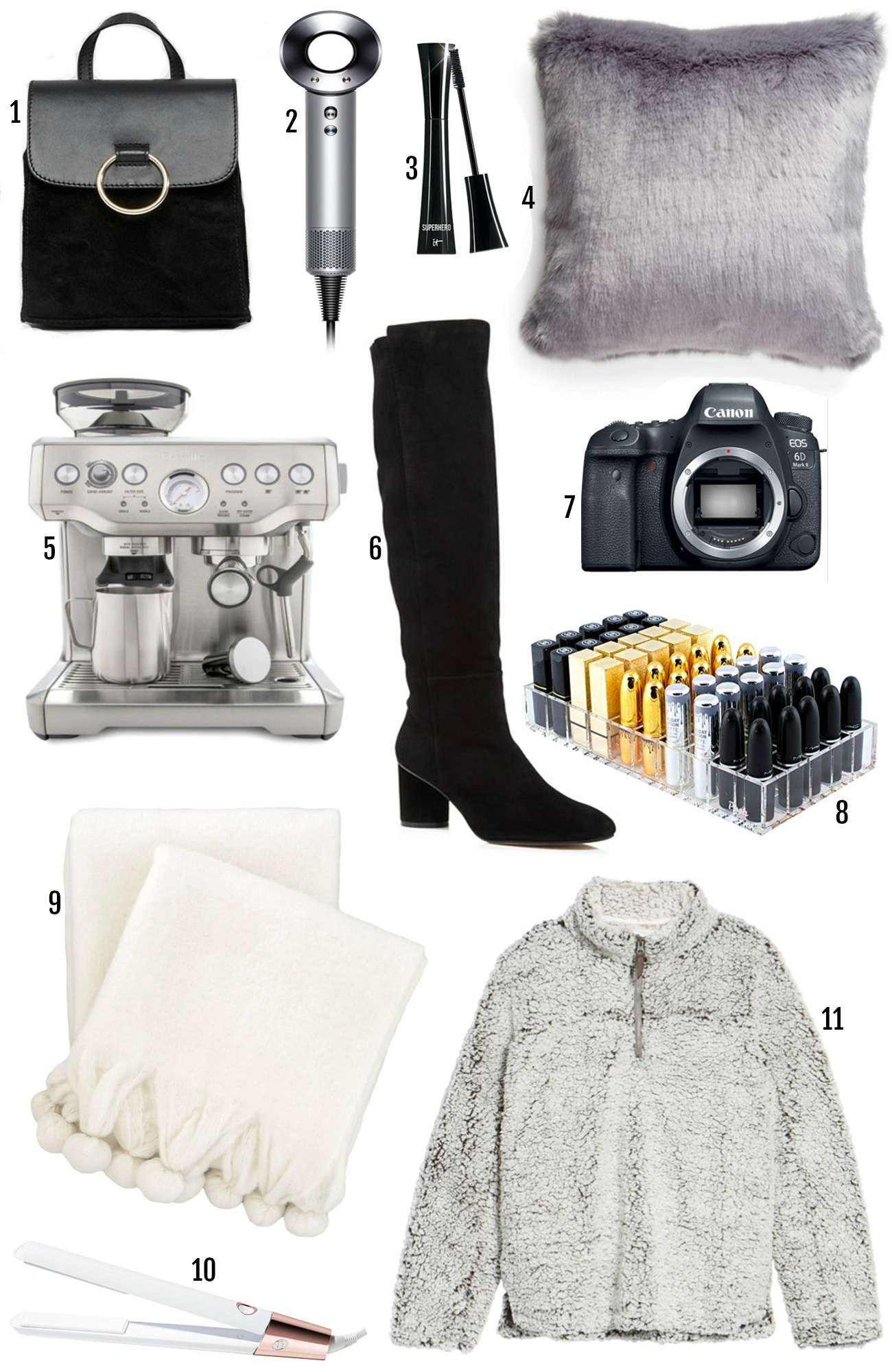 The Best Black Friday Deals   Mash Elle beauty blogger   2018 Cyber Deals   Black Friday   Christmas Gifts   sweater   makeup organizer   coffee press