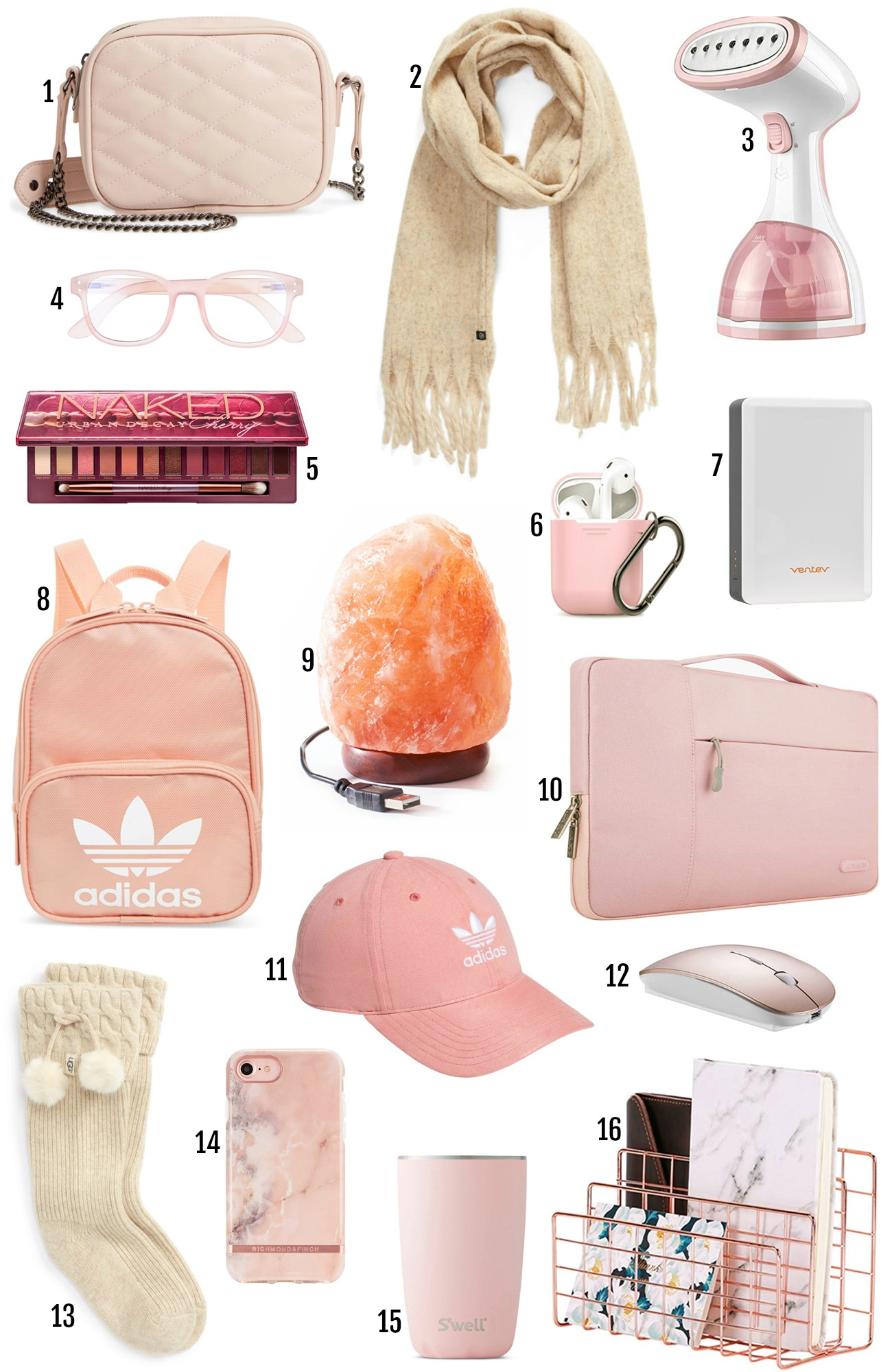 Best gifts for her | Christmas gifts | gift guide | pink gifts