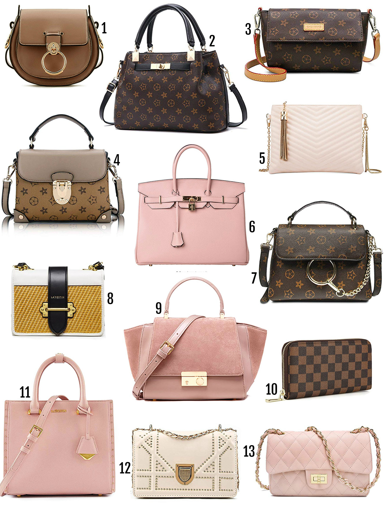 35 Designer Bag Dupes To Grab On Mash Elle