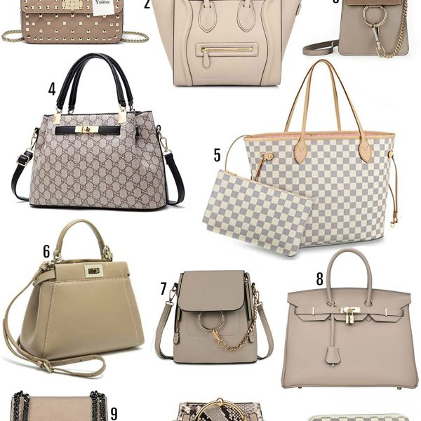 mash Elle beauty blogger   designer bag dupes   purse dupes