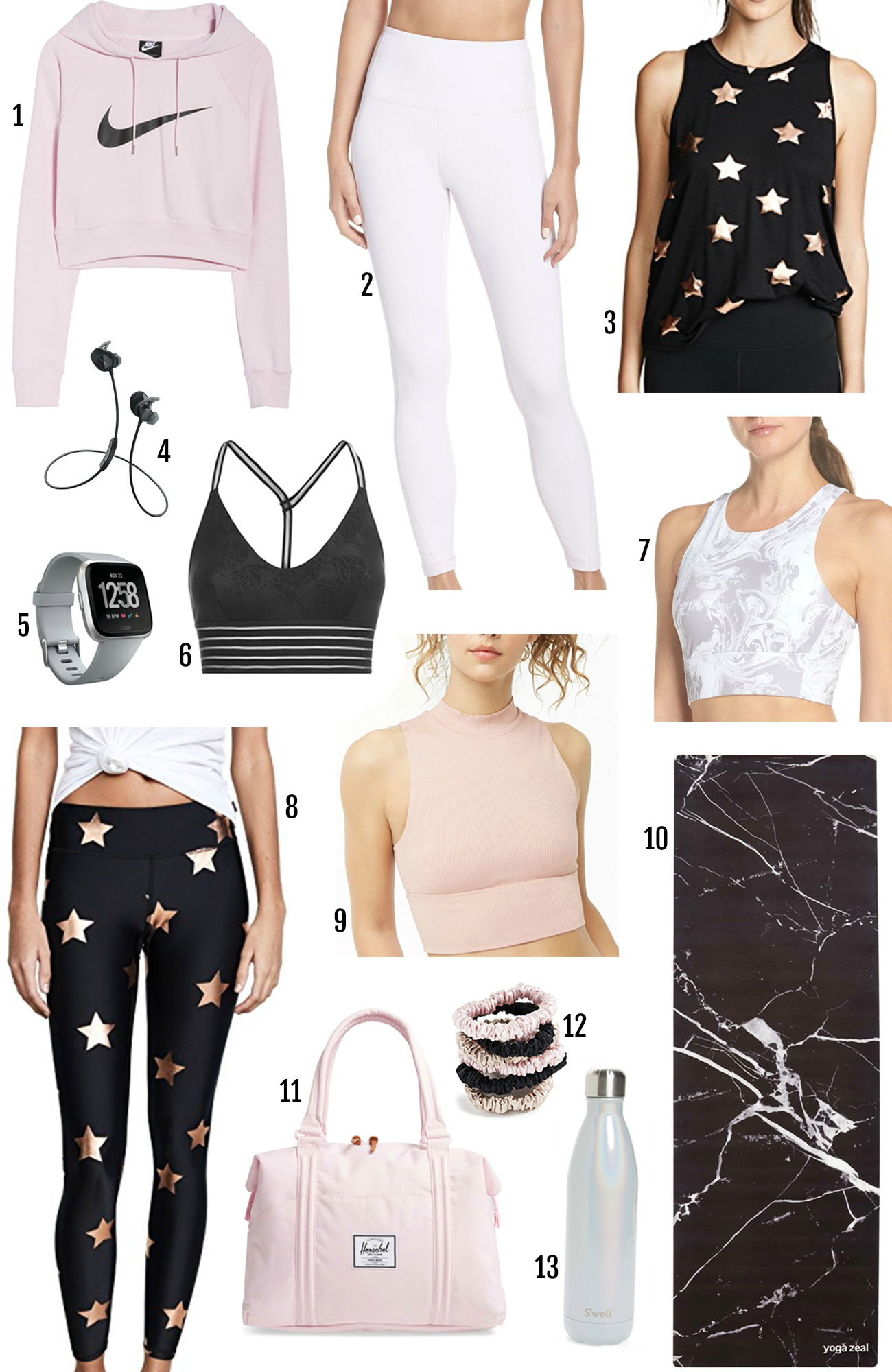 Mash Elle beauty lifestyle blogger | what to wear while working out | fitness | fitspo | cute workout outfits | nike | hershel