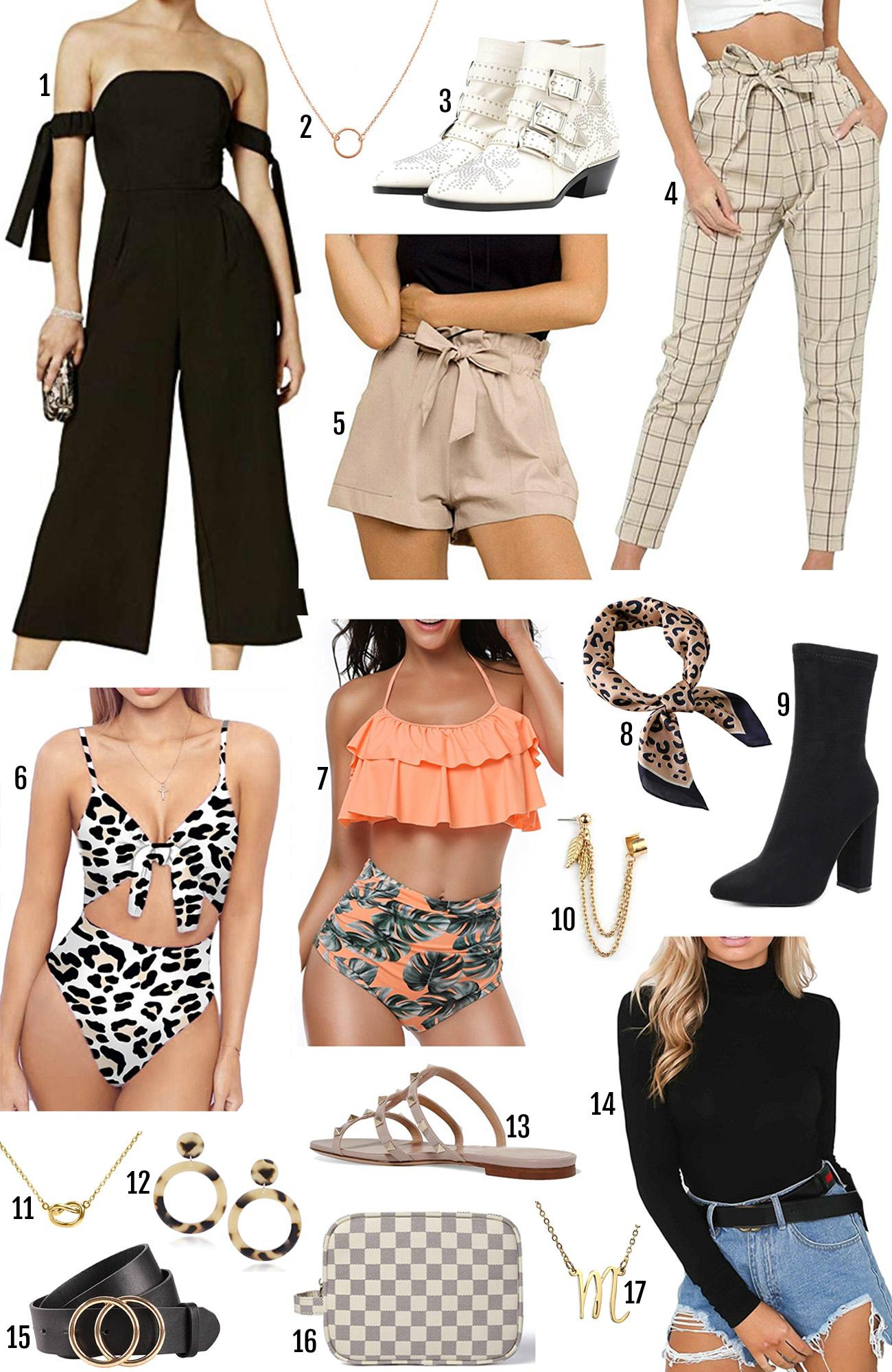 Mash Elle beauty style blogger | Amazon fashion | spring fashion 2019 | spring style | style trends 2019 | tropical print spring | woven bag