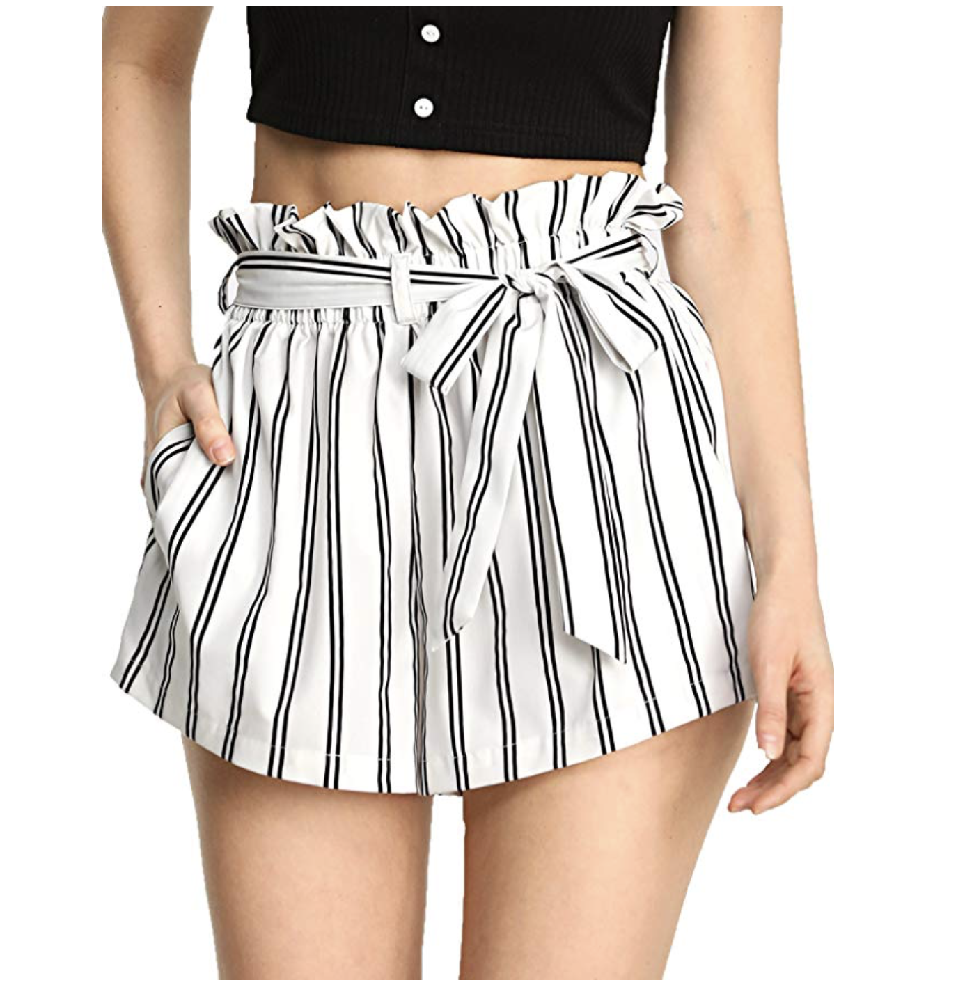 Amazon shopping ideas | Amazon sale | Amazon spring fashion | spring clothing | shorts | striped shorts